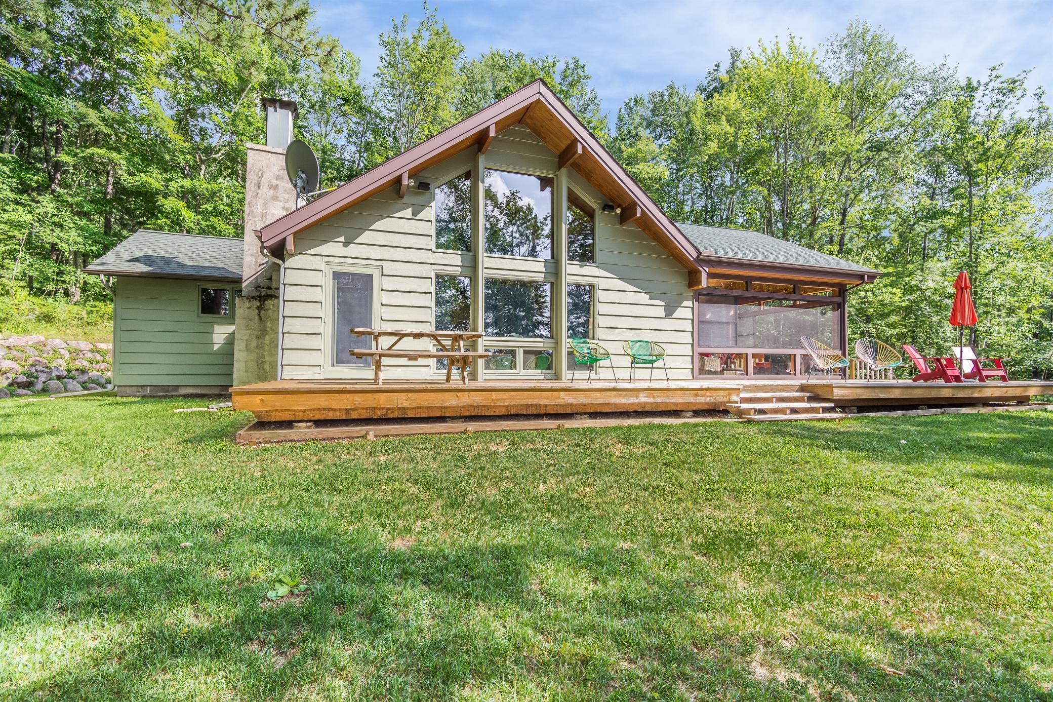 8381 S County Road P Property Photo - Lake Nebagamon, WI real estate listing