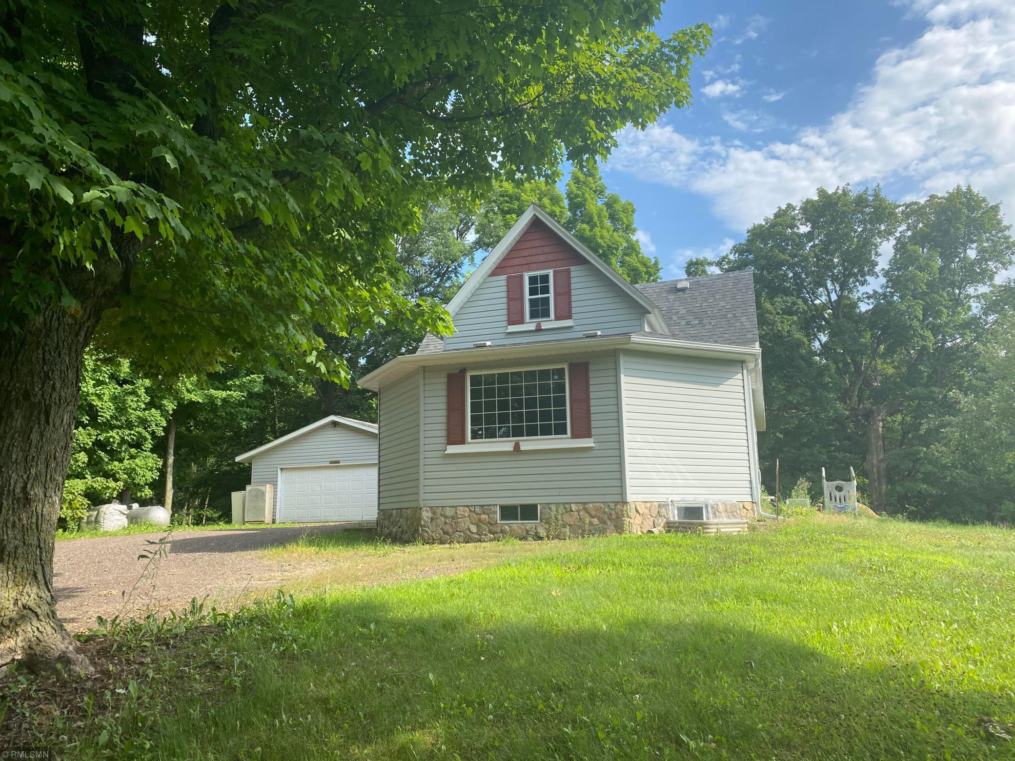 12175 County Road O Property Photo - Trade Lake, WI real estate listing