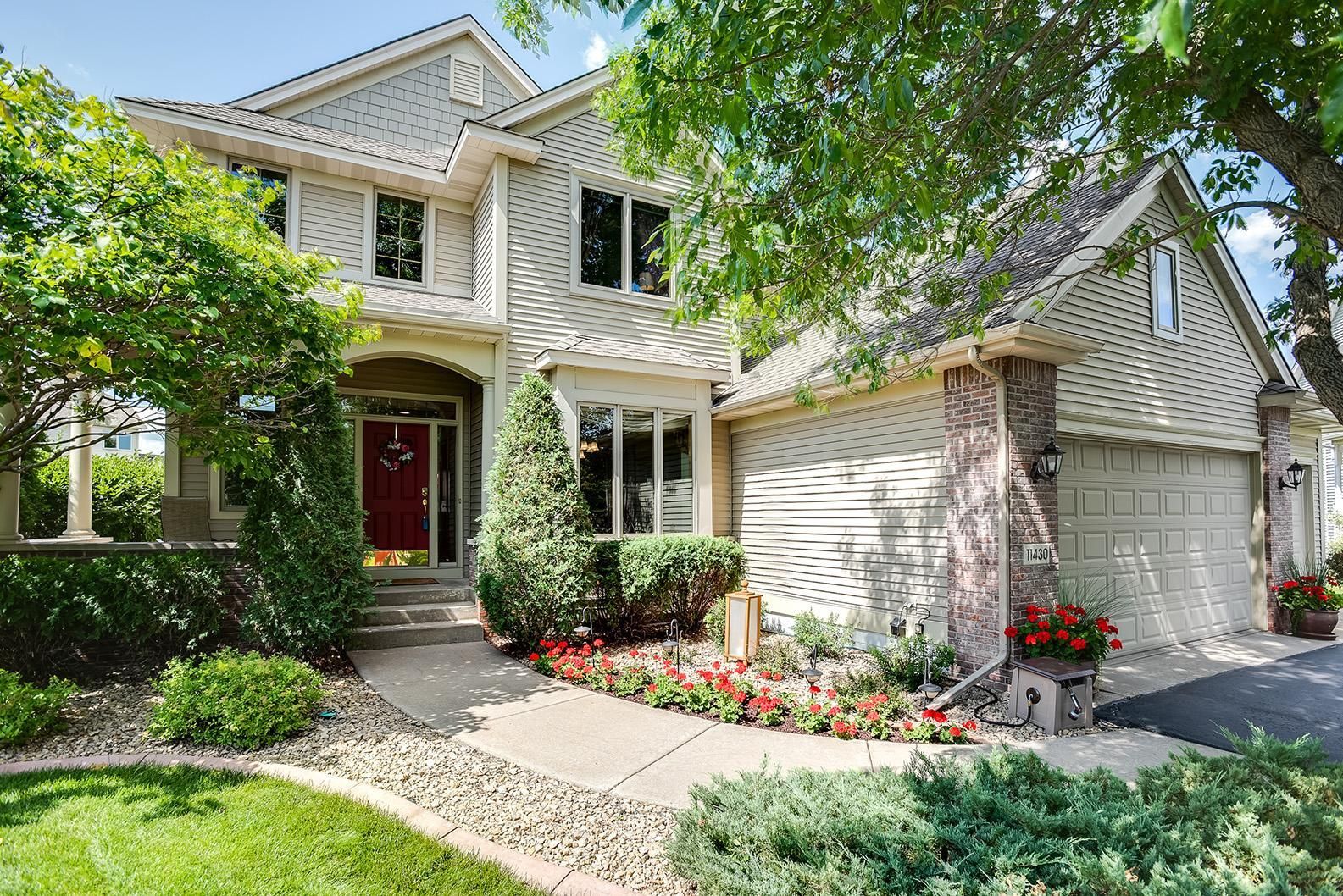 11430 Ashbury Circle N Property Photo - Champlin, MN real estate listing