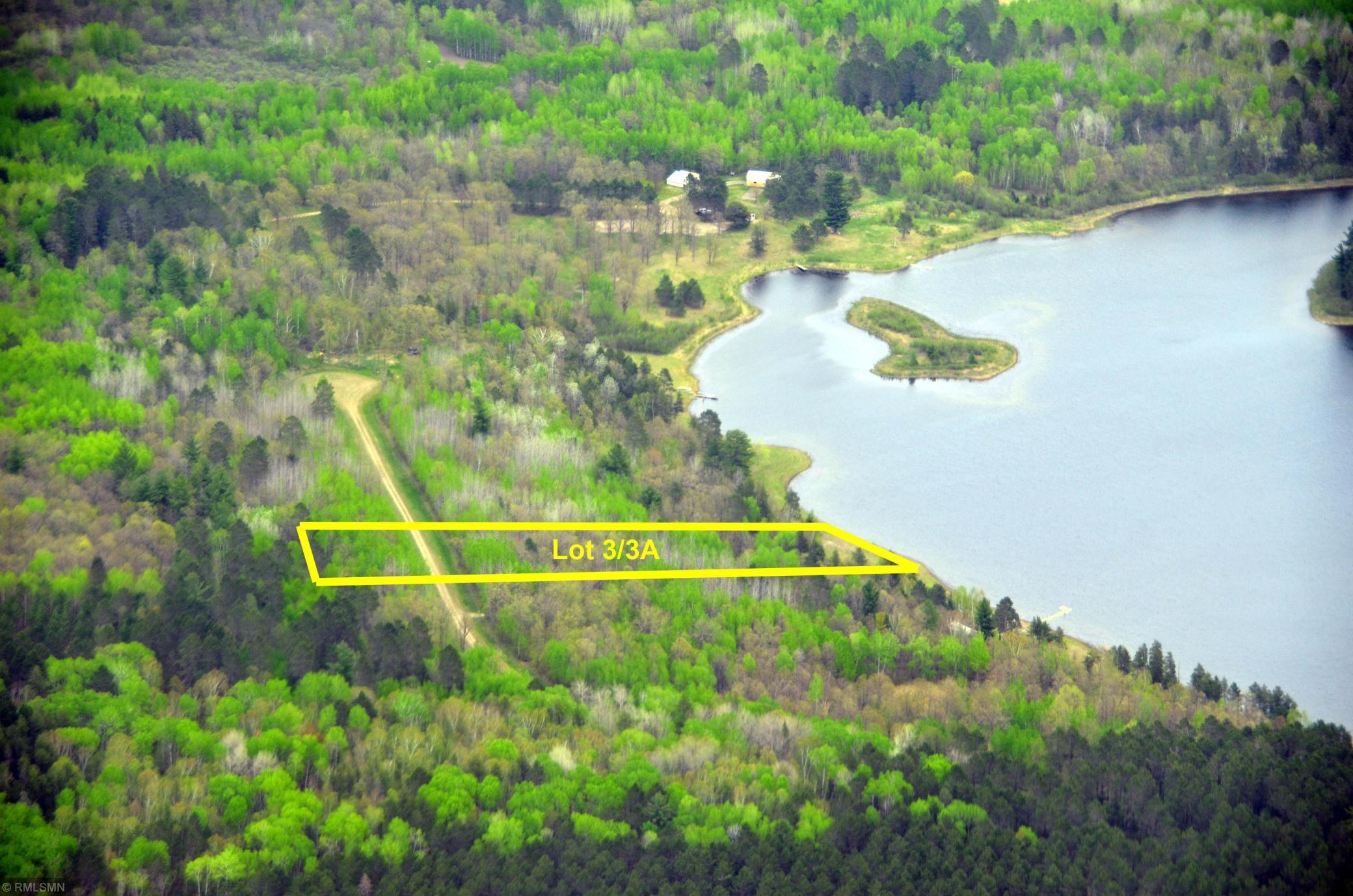 Lot 3/3A Shanty Lake Dr N Property Photo - Lake George Twp, MN real estate listing