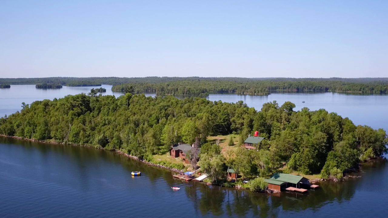 Private Island Pelican Lake Property Photo - Orr, MN real estate listing