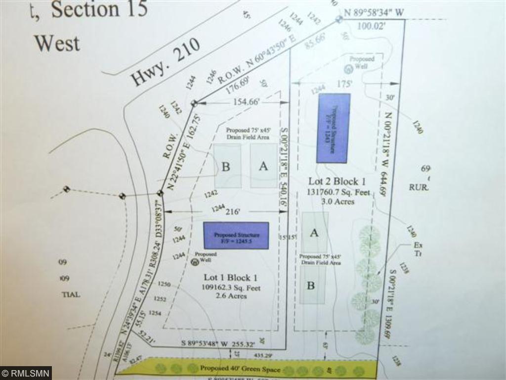 Lot 2 Woodland Road Property Photo - Ironton, MN real estate listing