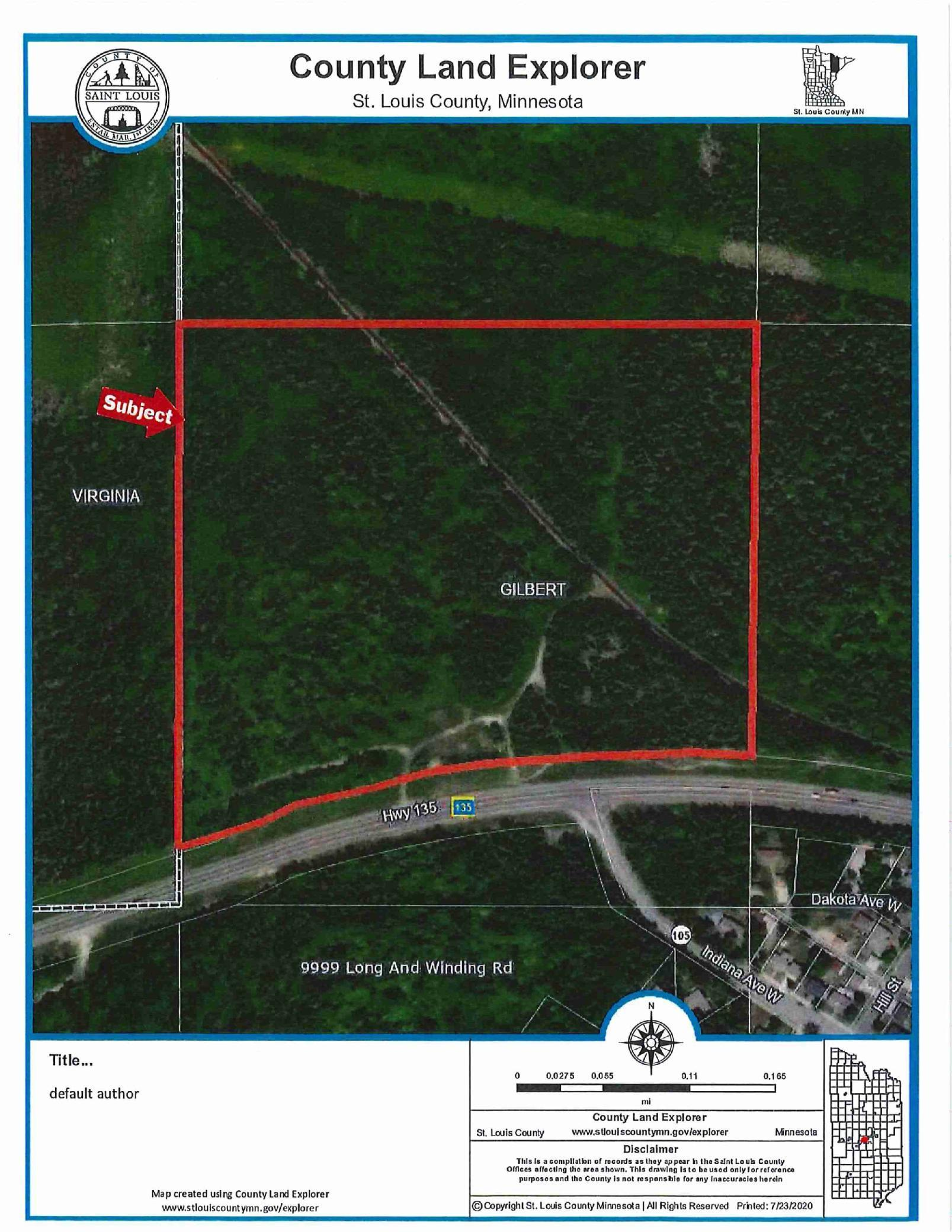 XXXX Highway 135 Property Photo - Gilbert, MN real estate listing