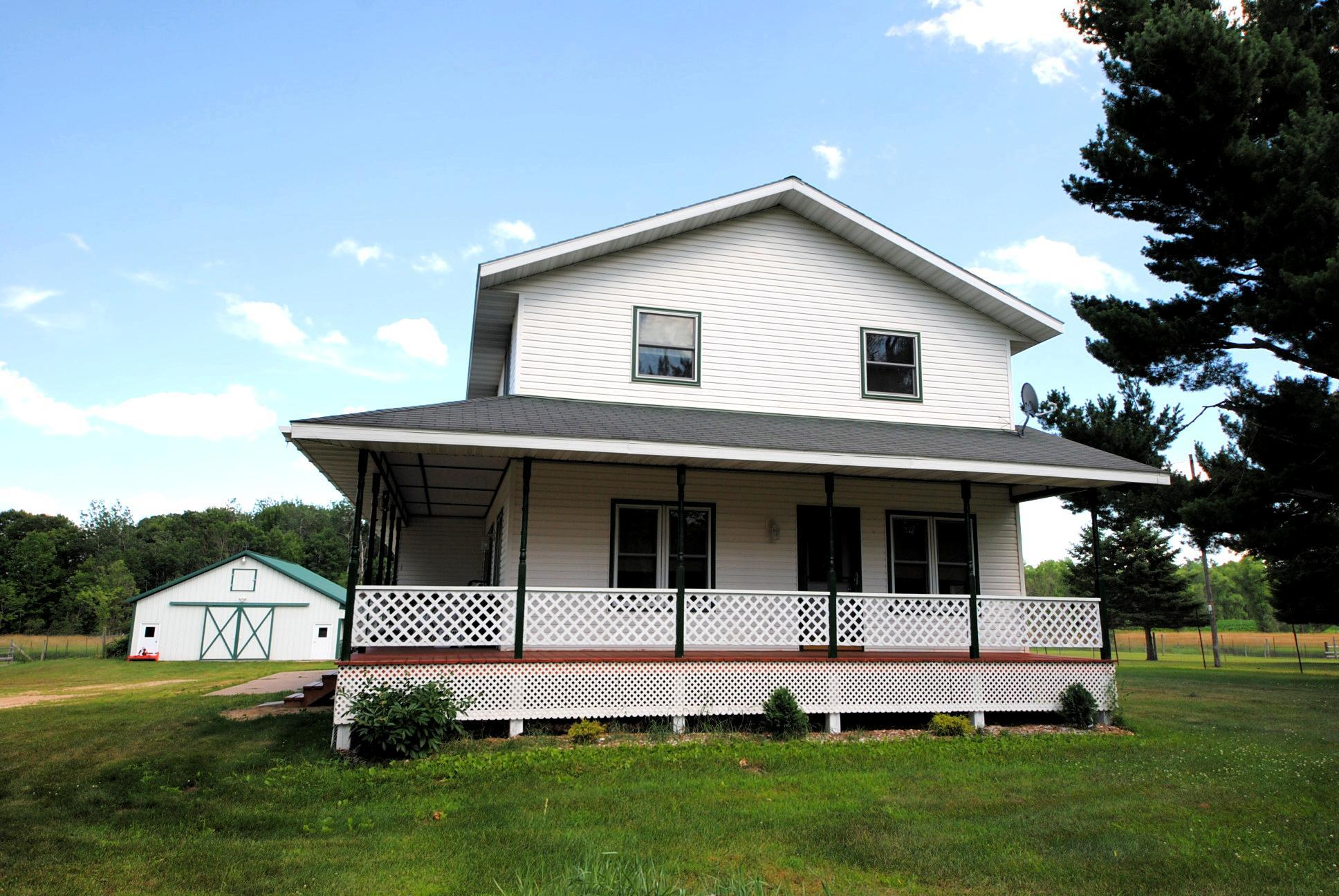 N9624 County Road K Property Photo - Boyceville, WI real estate listing
