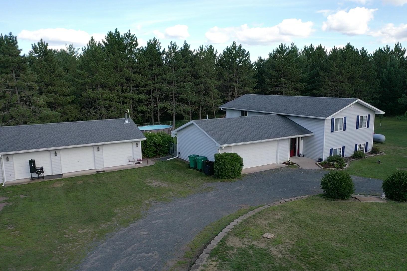 23554 Kellog Road Property Photo - Grantsburg, WI real estate listing