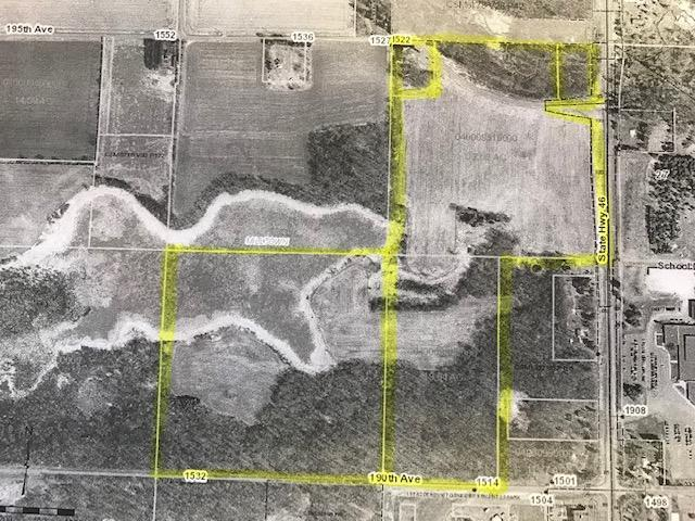 36 acres State Hwy 46 and 195th Avenue Property Photo - Milltown Twp, WI real estate listing