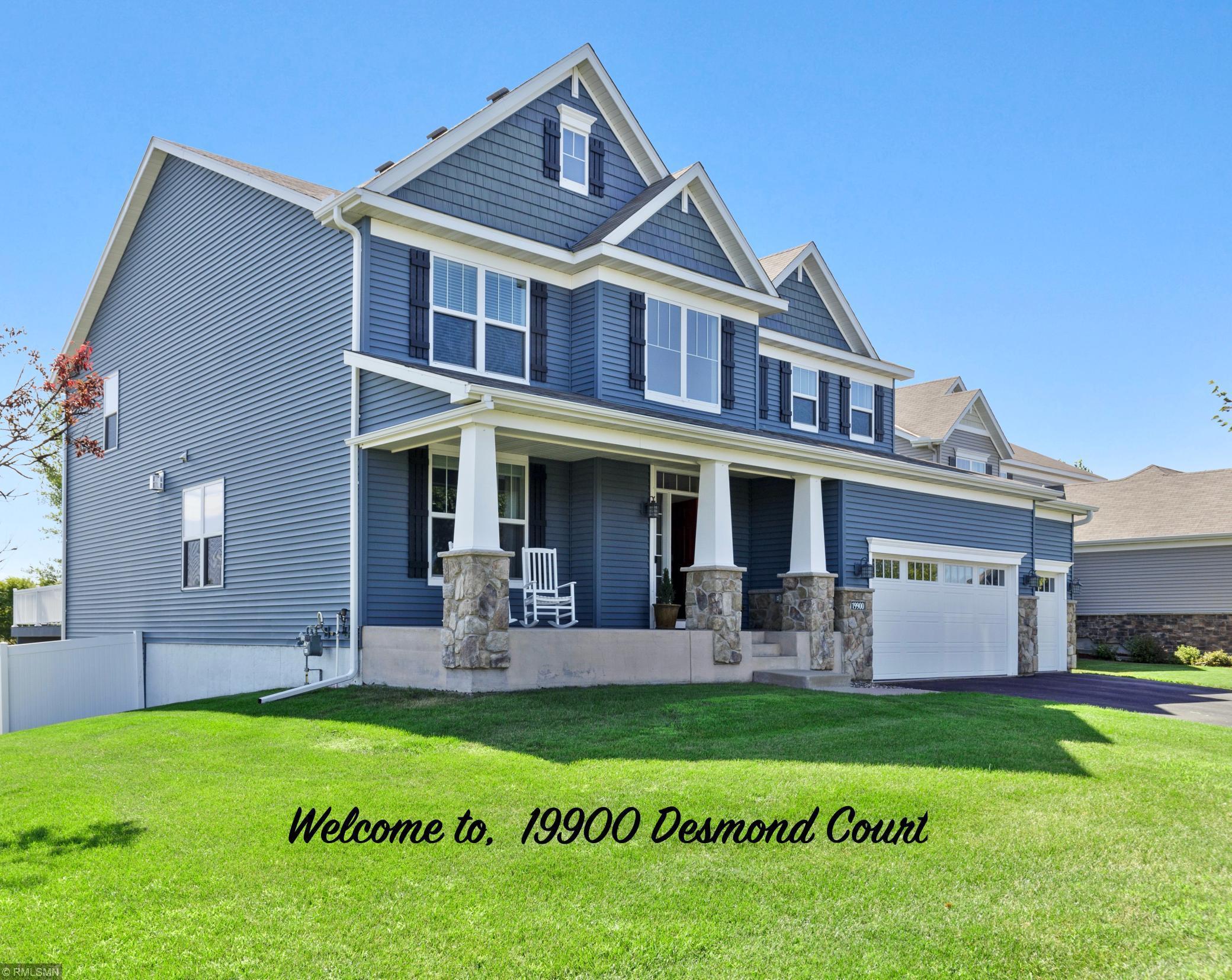19900 Desmond Court Property Photo - Farmington, MN real estate listing