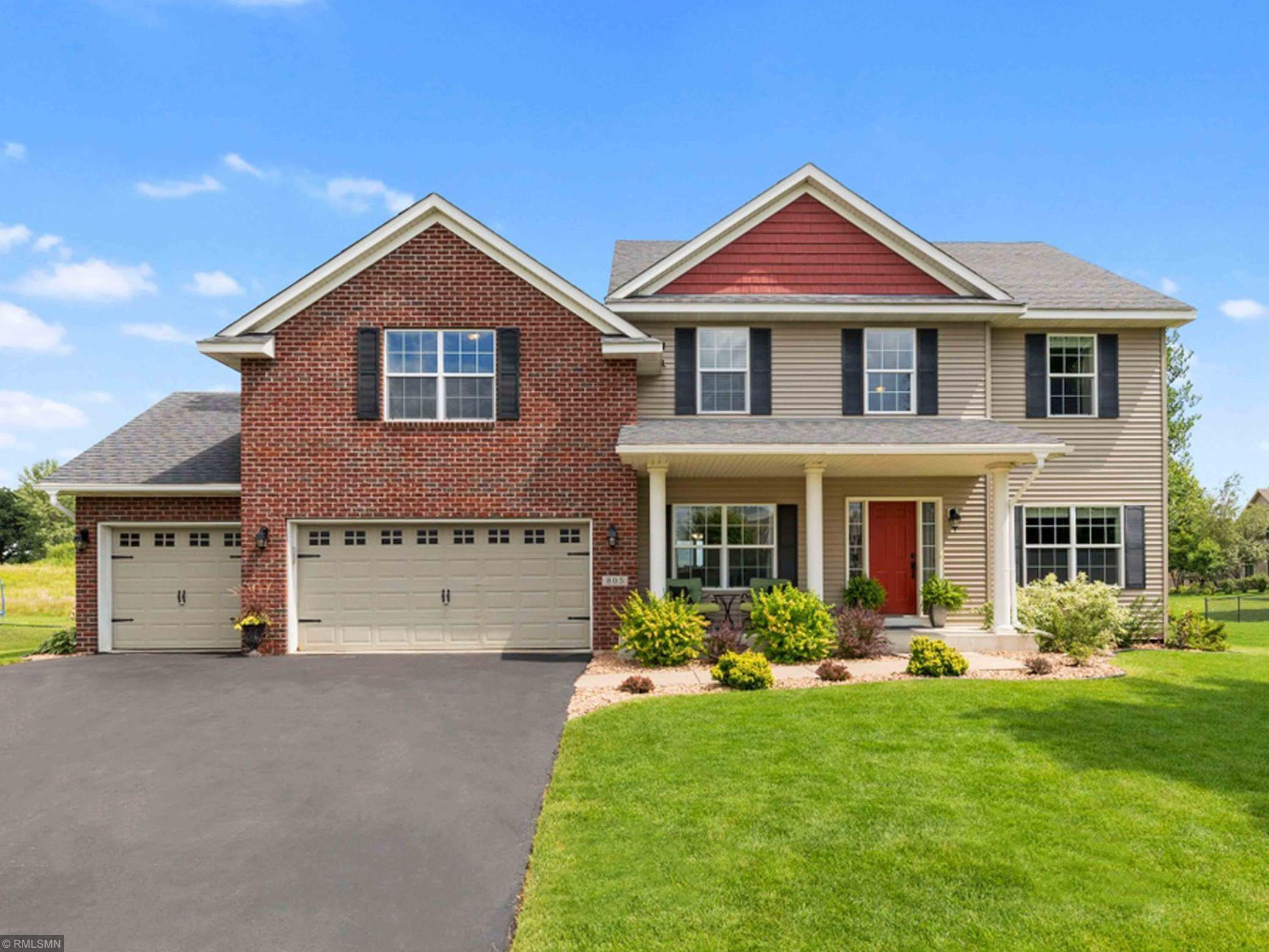805 Riverview Lane Property Photo - Belle Plaine, MN real estate listing