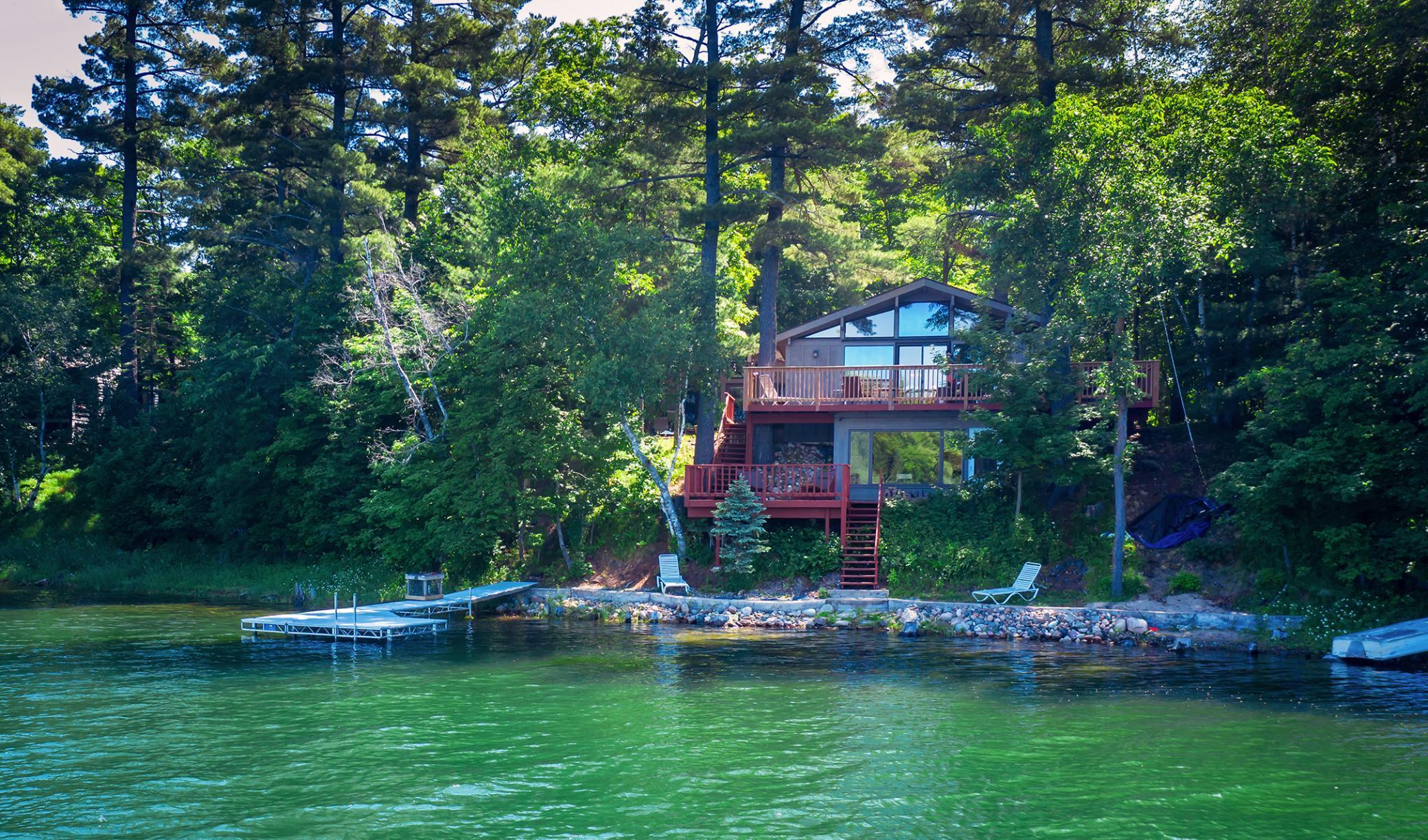 21522 NE Pickerel Lake Road Property Photo - Detroit Lakes, MN real estate listing