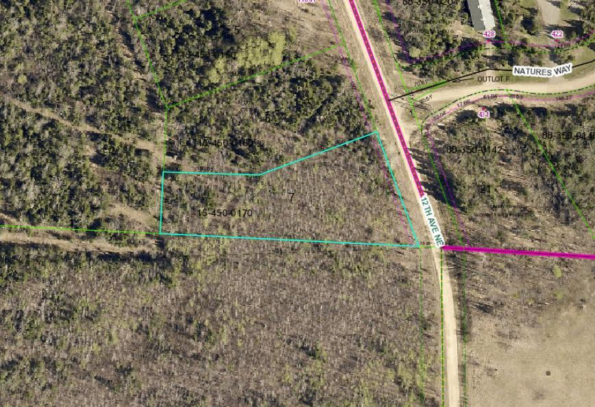 lot 7 12th Avenue NE Property Photo - Federal Dam, MN real estate listing