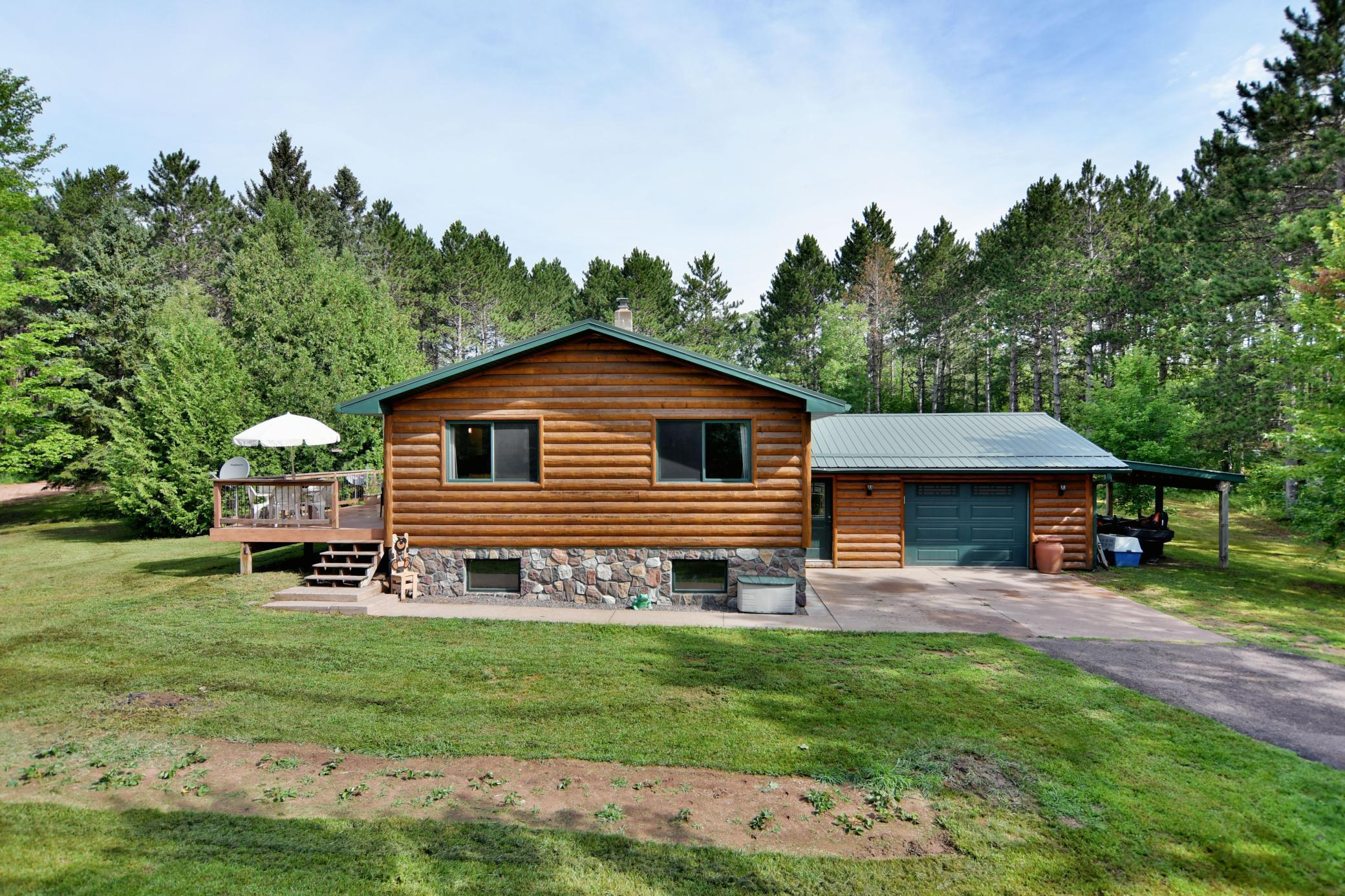 4672 Setting Sun Trail Property Photo - Danbury, WI real estate listing