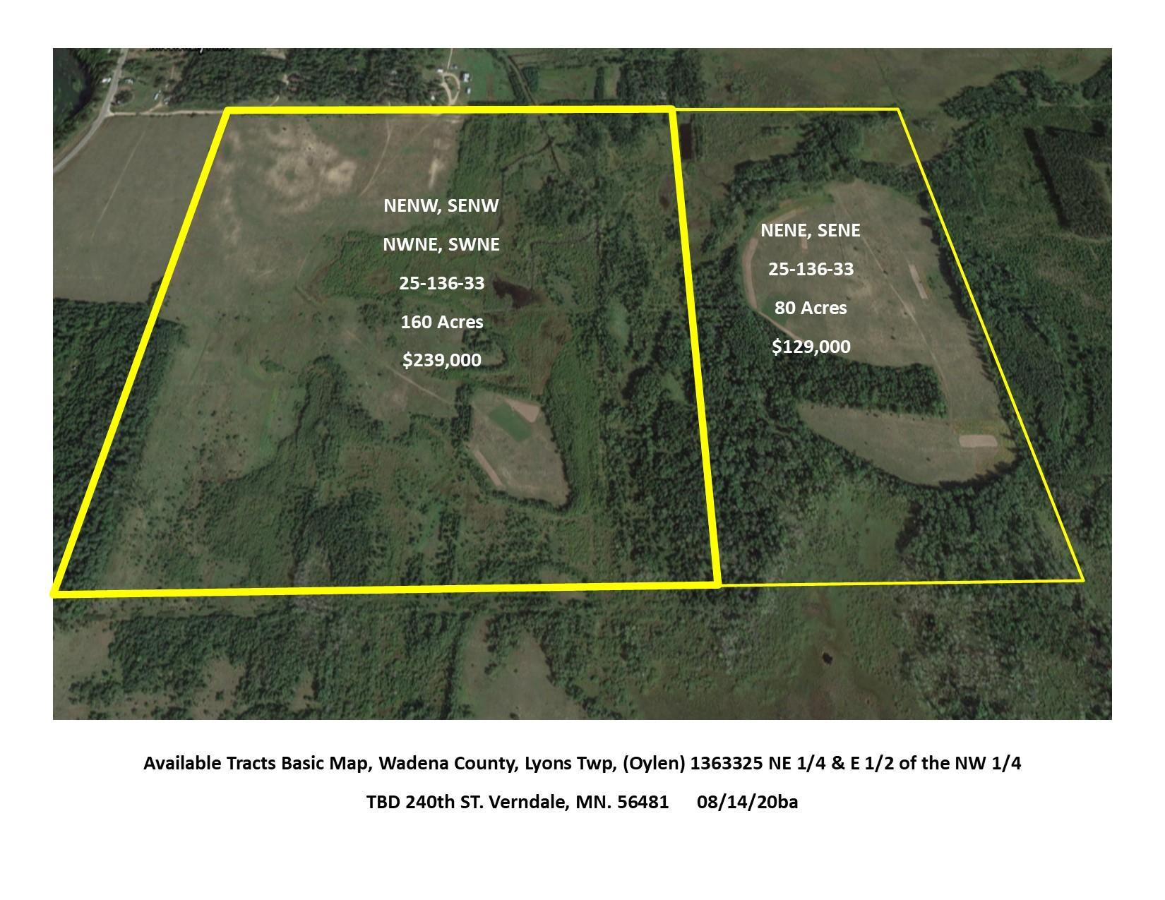 TBD 240th Property Photo - Lyons Twp, MN real estate listing