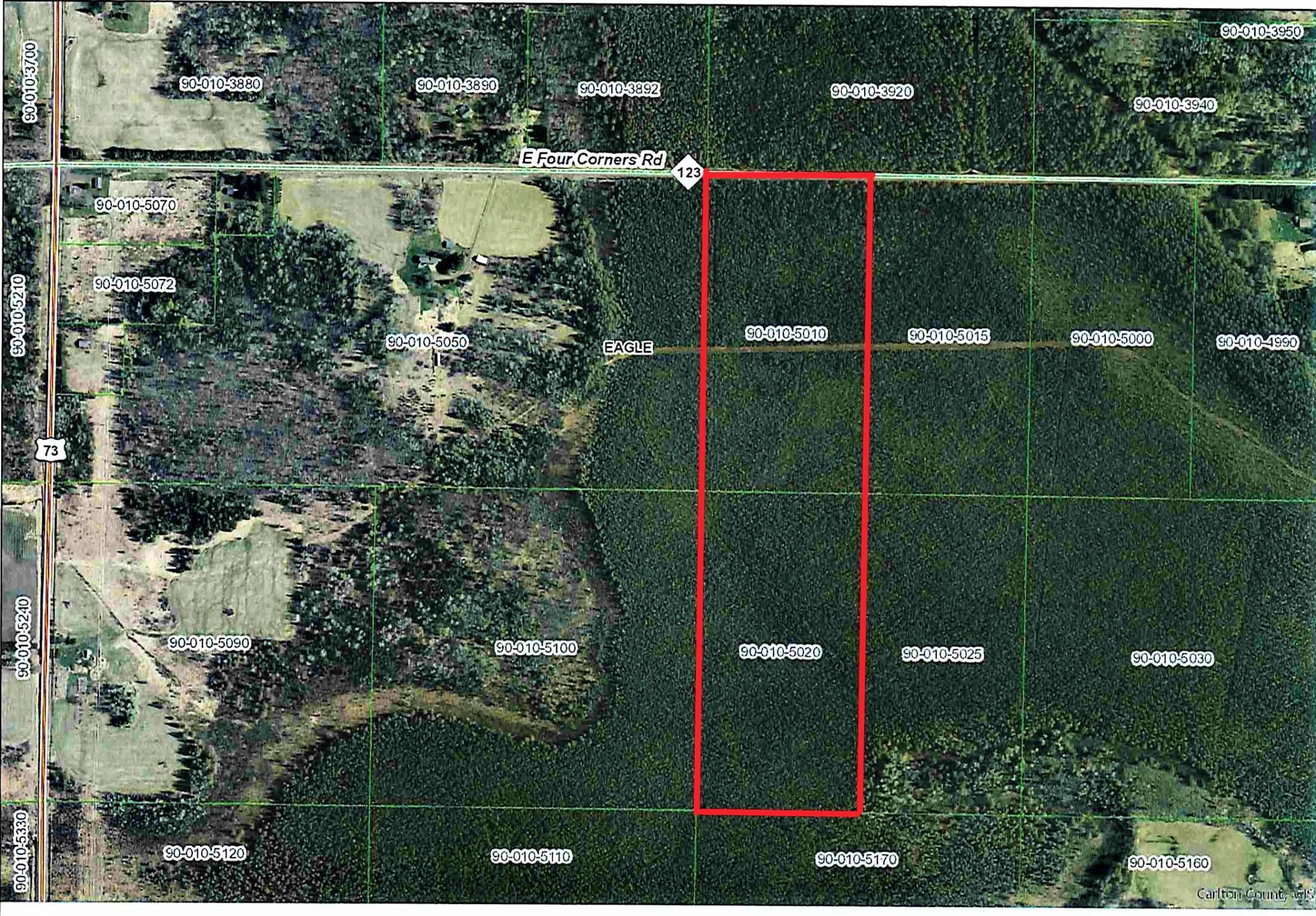 TBD Four Corners Rd Property Photo - Eagle Twp, MN real estate listing