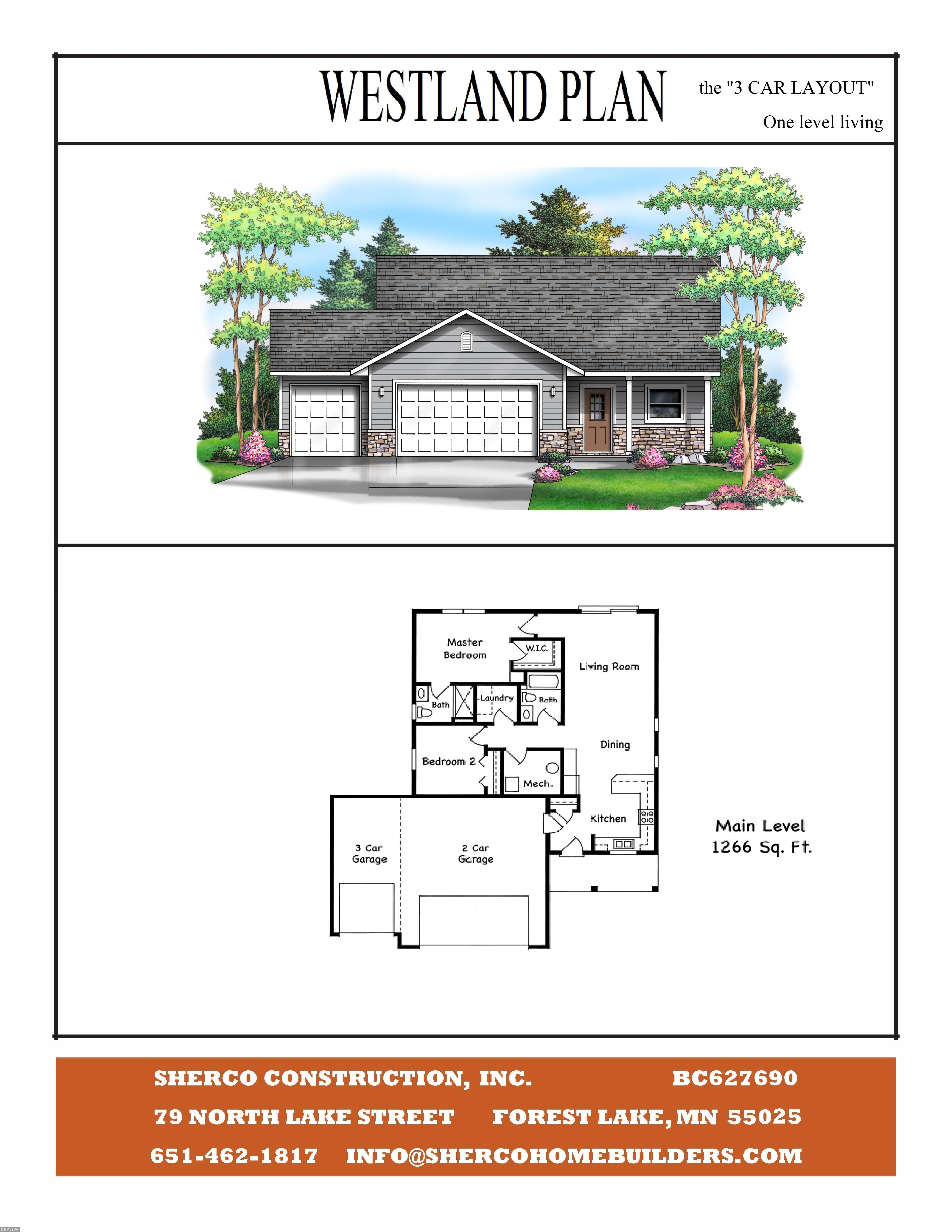 1870 Fairway Court Property Photo - Rush City, MN real estate listing