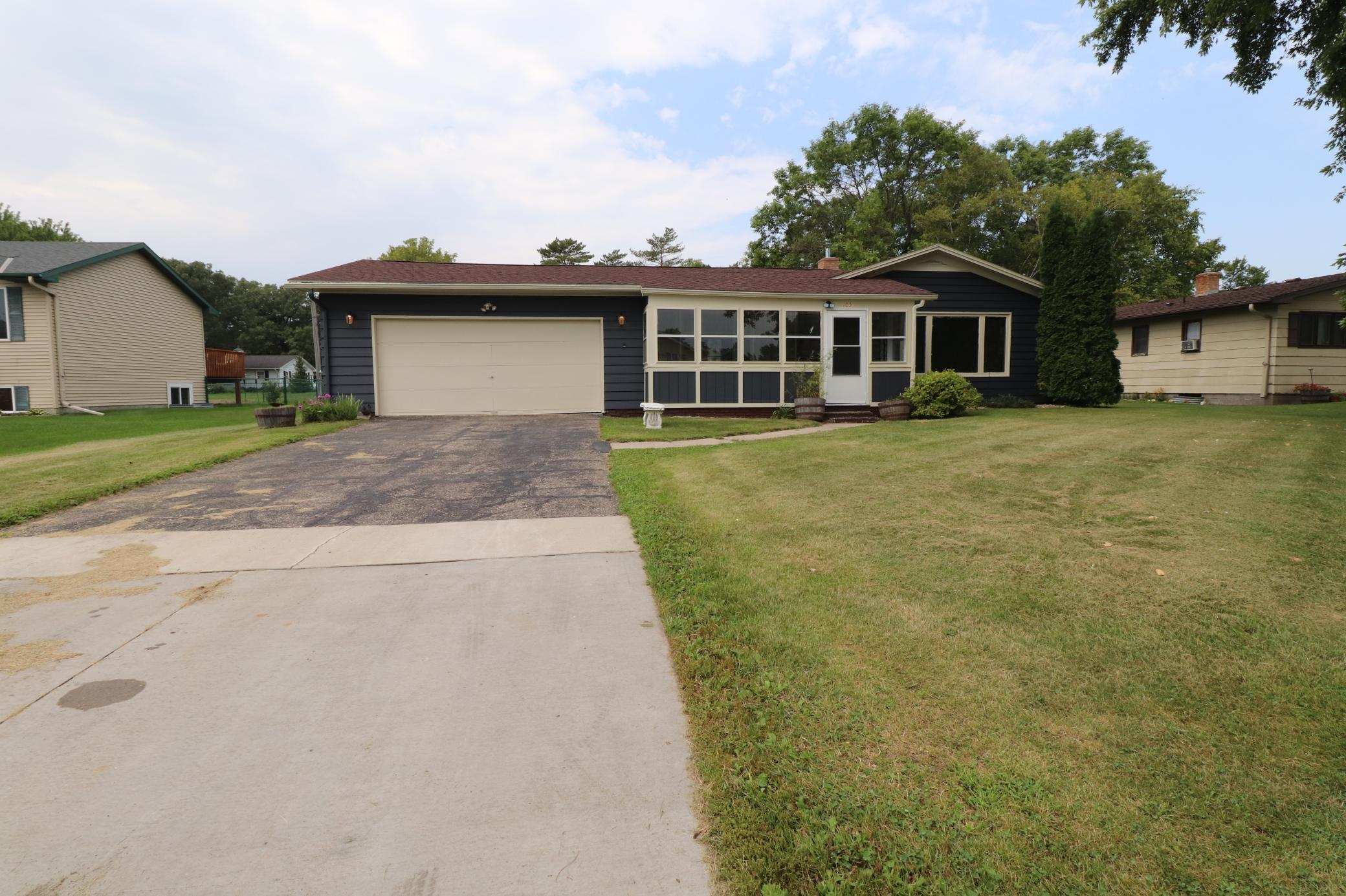 105 4th Street N Property Photo - Hoffman, MN real estate listing