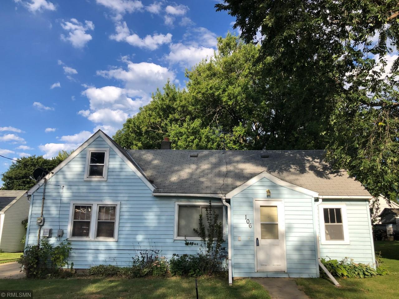 106 SE Johnson Street Property Photo - Brownsdale, MN real estate listing