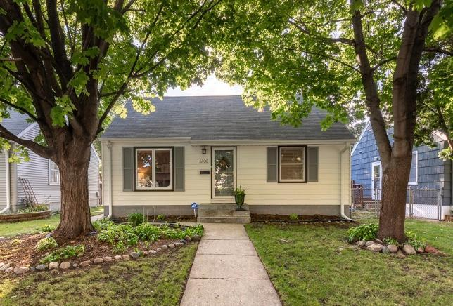 6108 Sheridan Avenue S Property Photo - Minneapolis, MN real estate listing