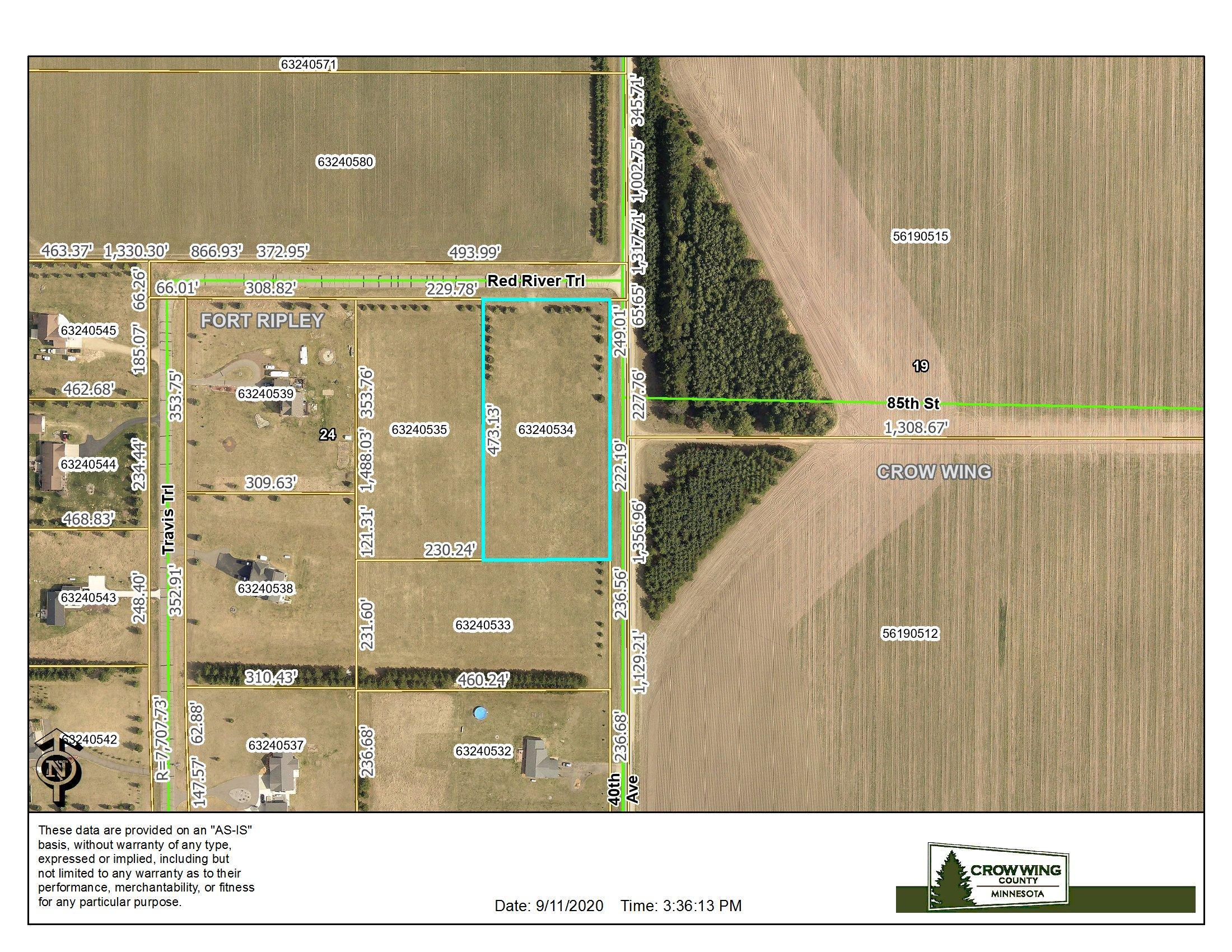 XXXX Red River Trail Property Photo - Brainerd, MN real estate listing