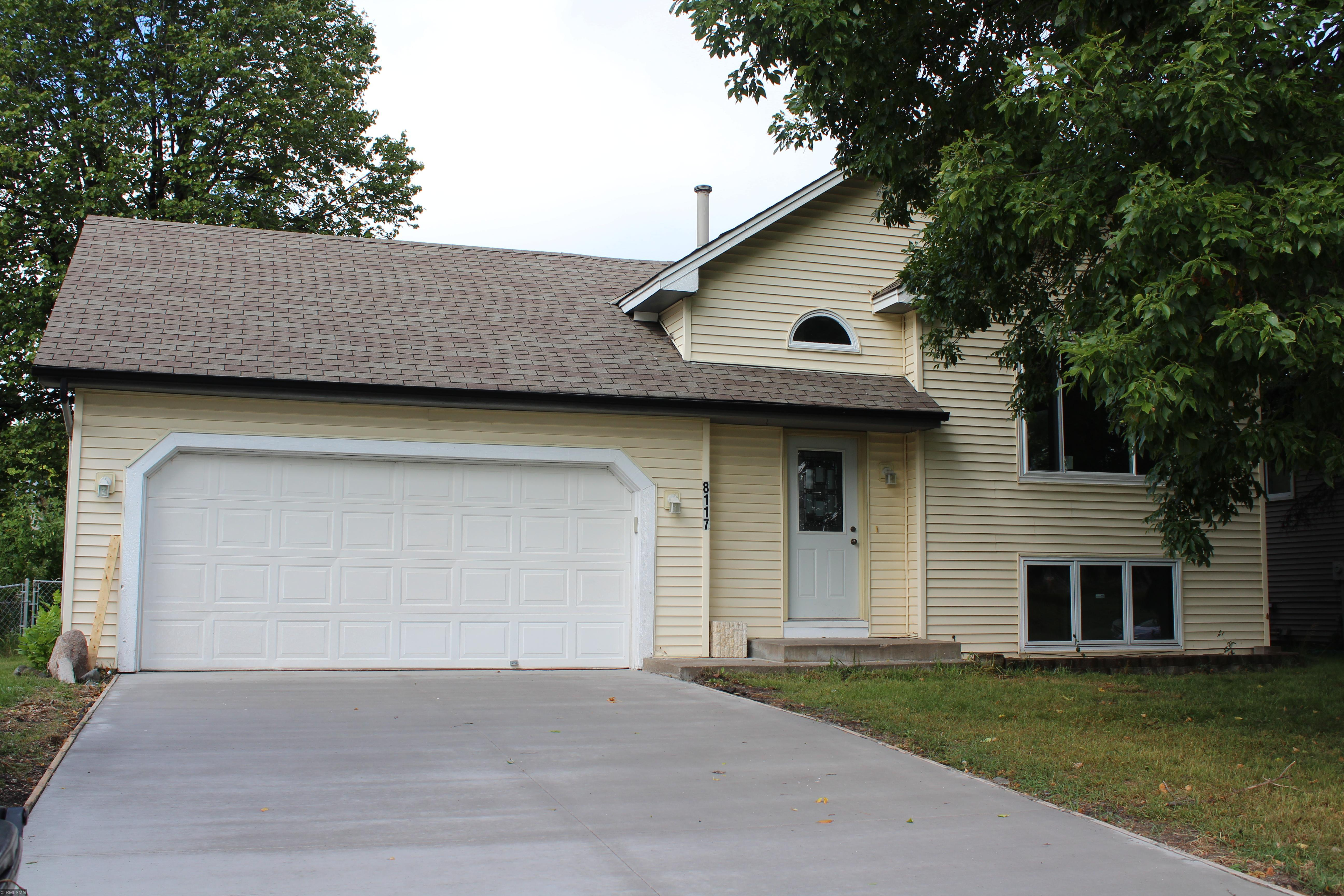 8117 Irving Avenue N Property Photo - Brooklyn Park, MN real estate listing