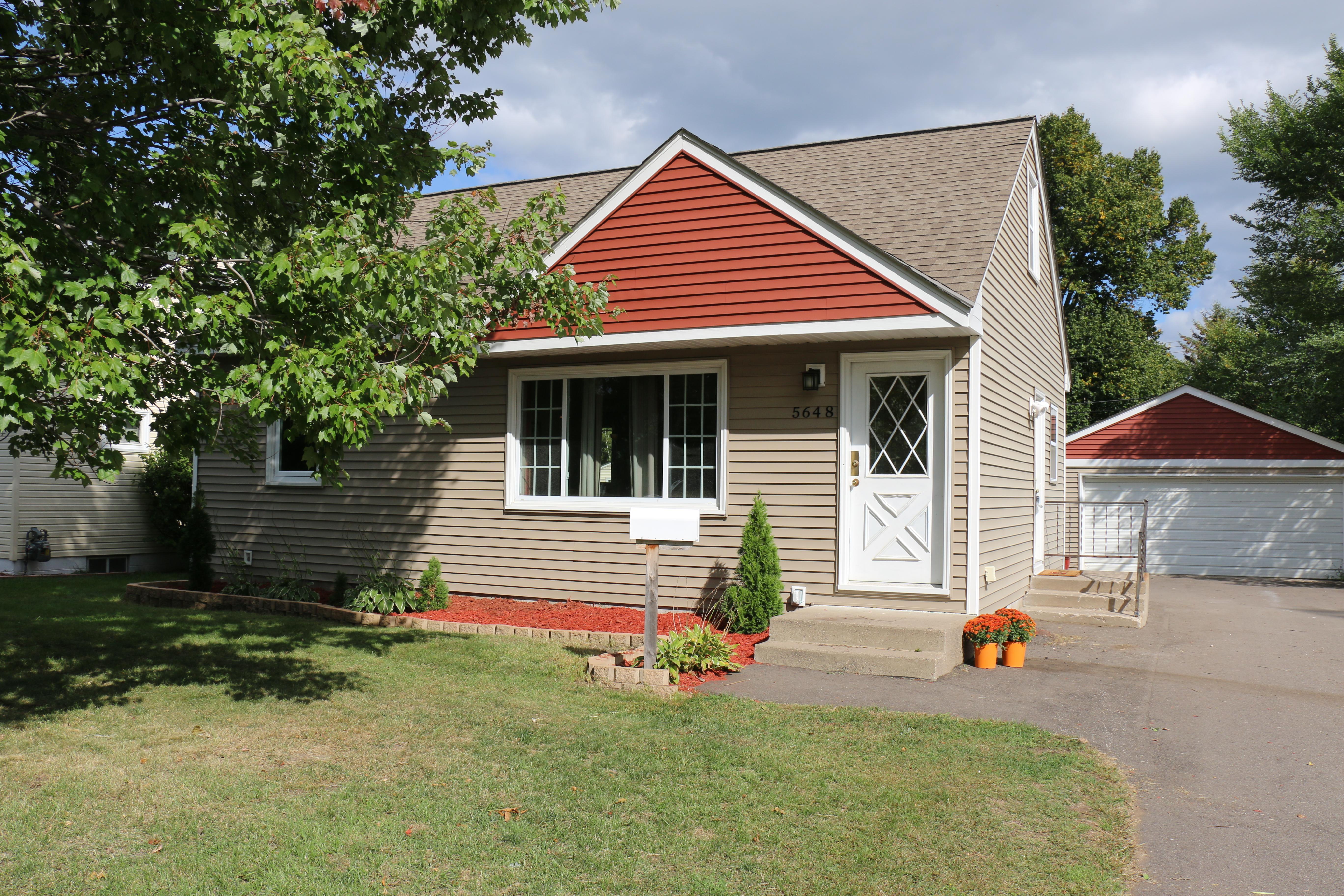 5648 Zane Avenue N Property Photo - Crystal, MN real estate listing