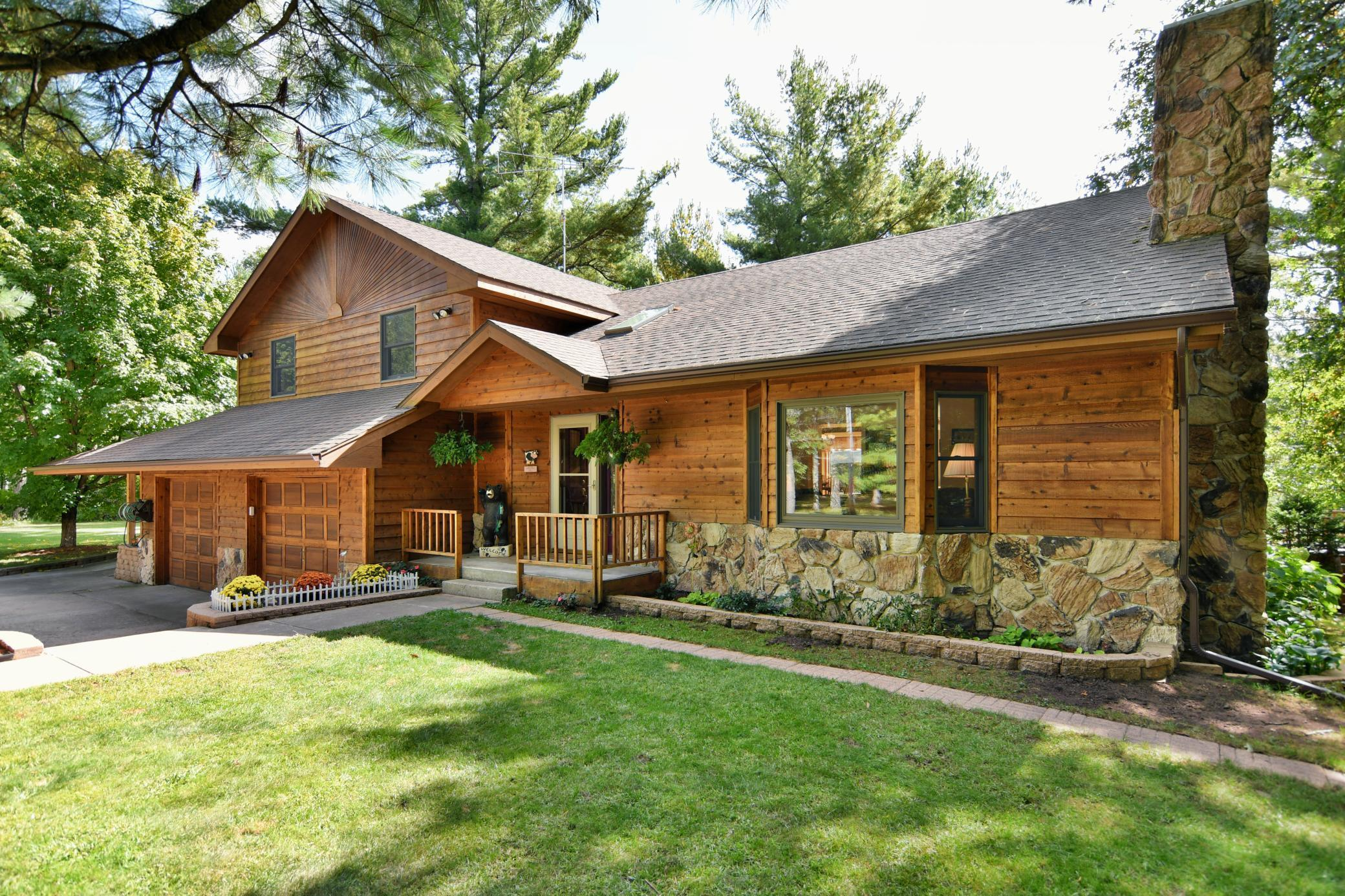 23622 Larson Road Property Photo - Grantsburg, WI real estate listing