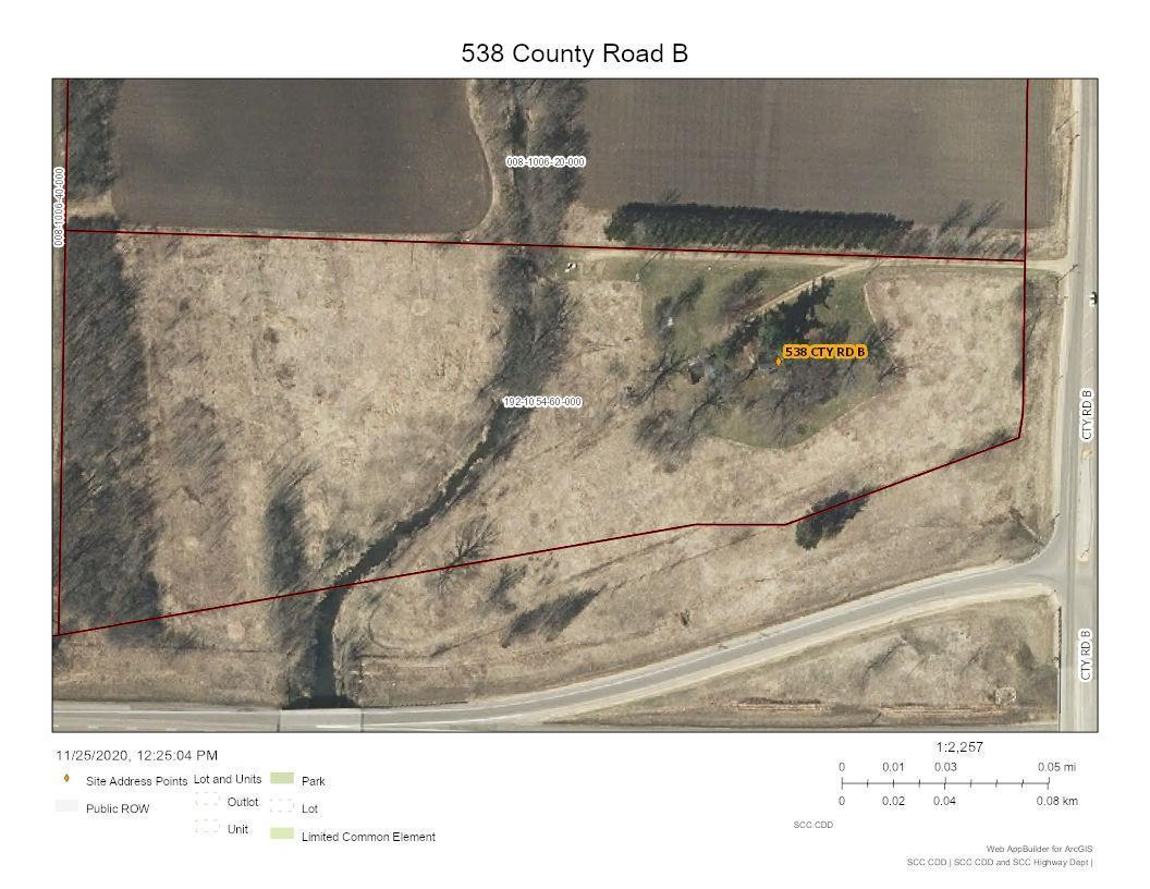 538 County Road B Property Photo - Woodville, WI real estate listing
