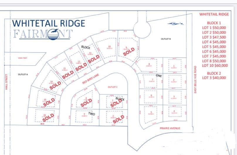 2318 Red Bird Lane Property Photo - Fairmont, MN real estate listing