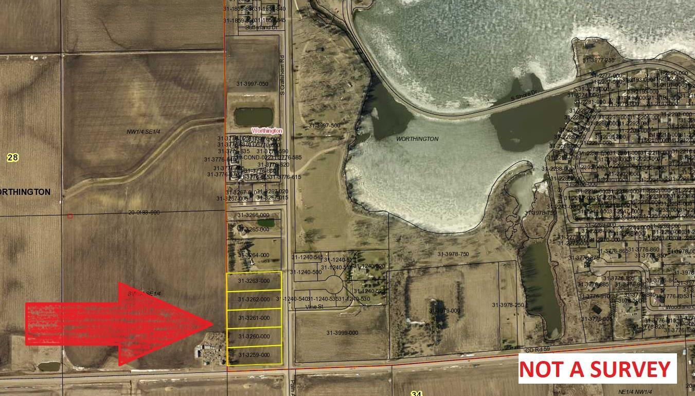 NA South Crailsheim Road Property Photo - Worthington, MN real estate listing