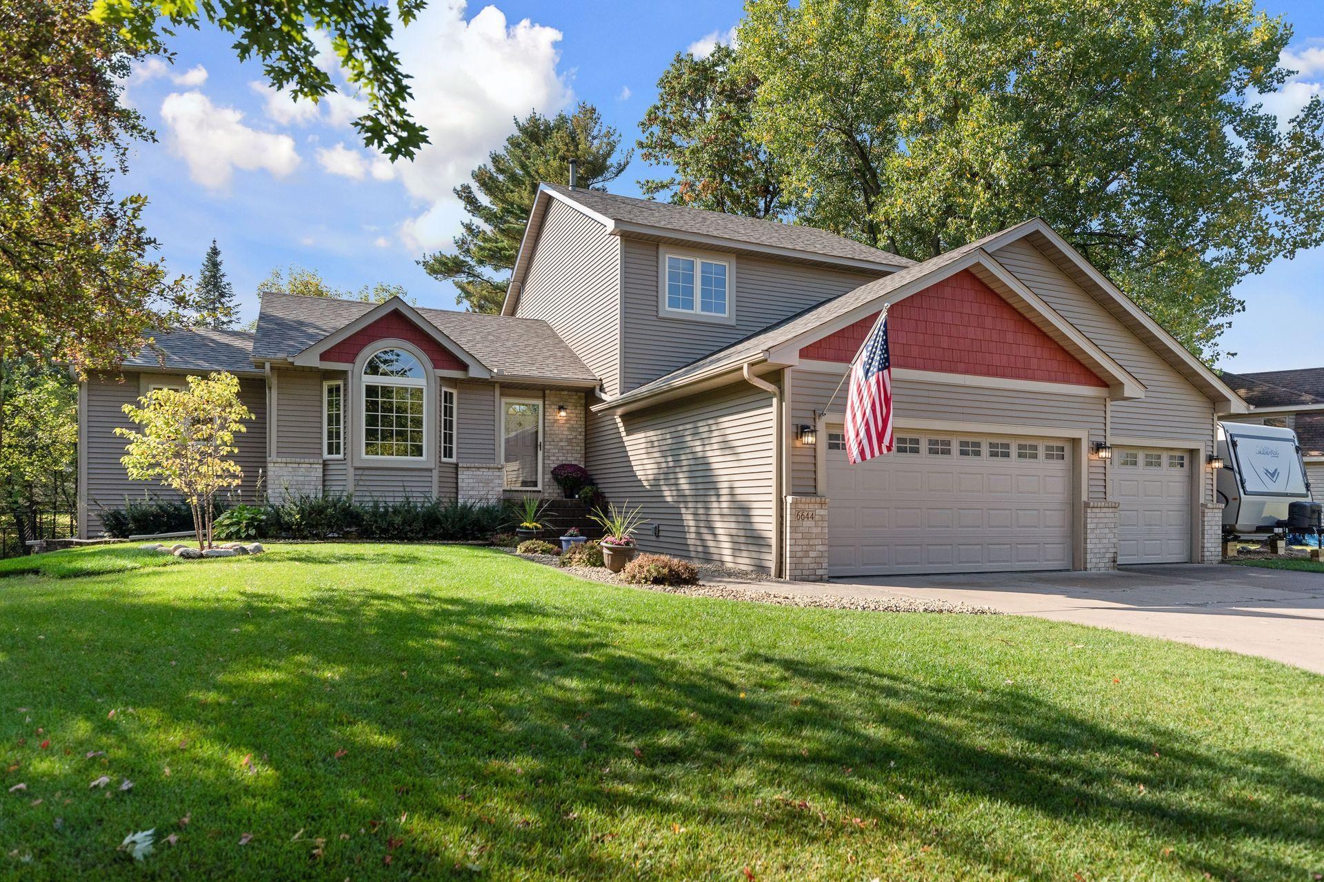 6644 White Birch Court Property Photo - Lino Lakes, MN real estate listing