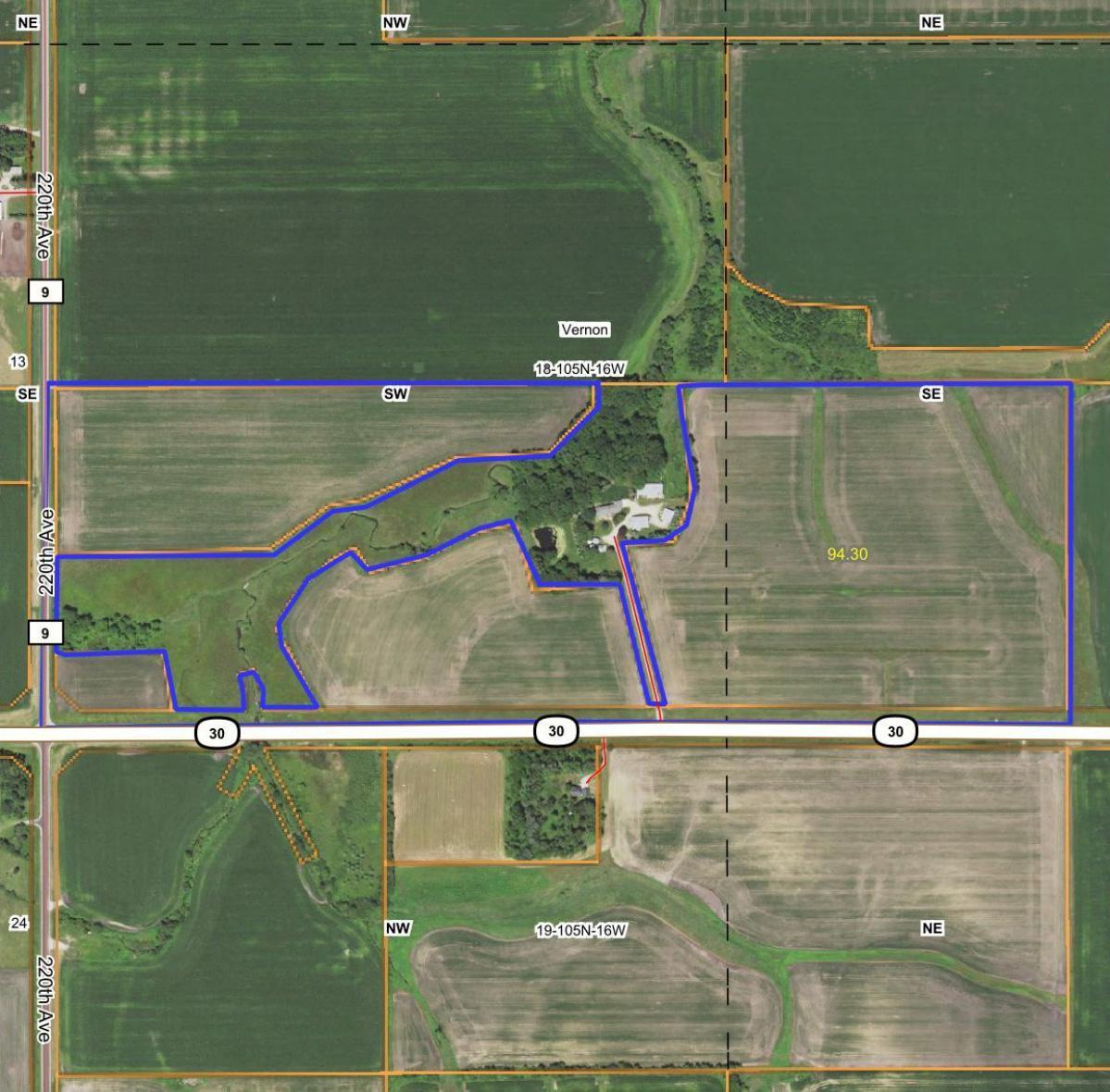 TBD State Hwy 30 - Hayfield Property Photo - Vernon Twp, MN real estate listing