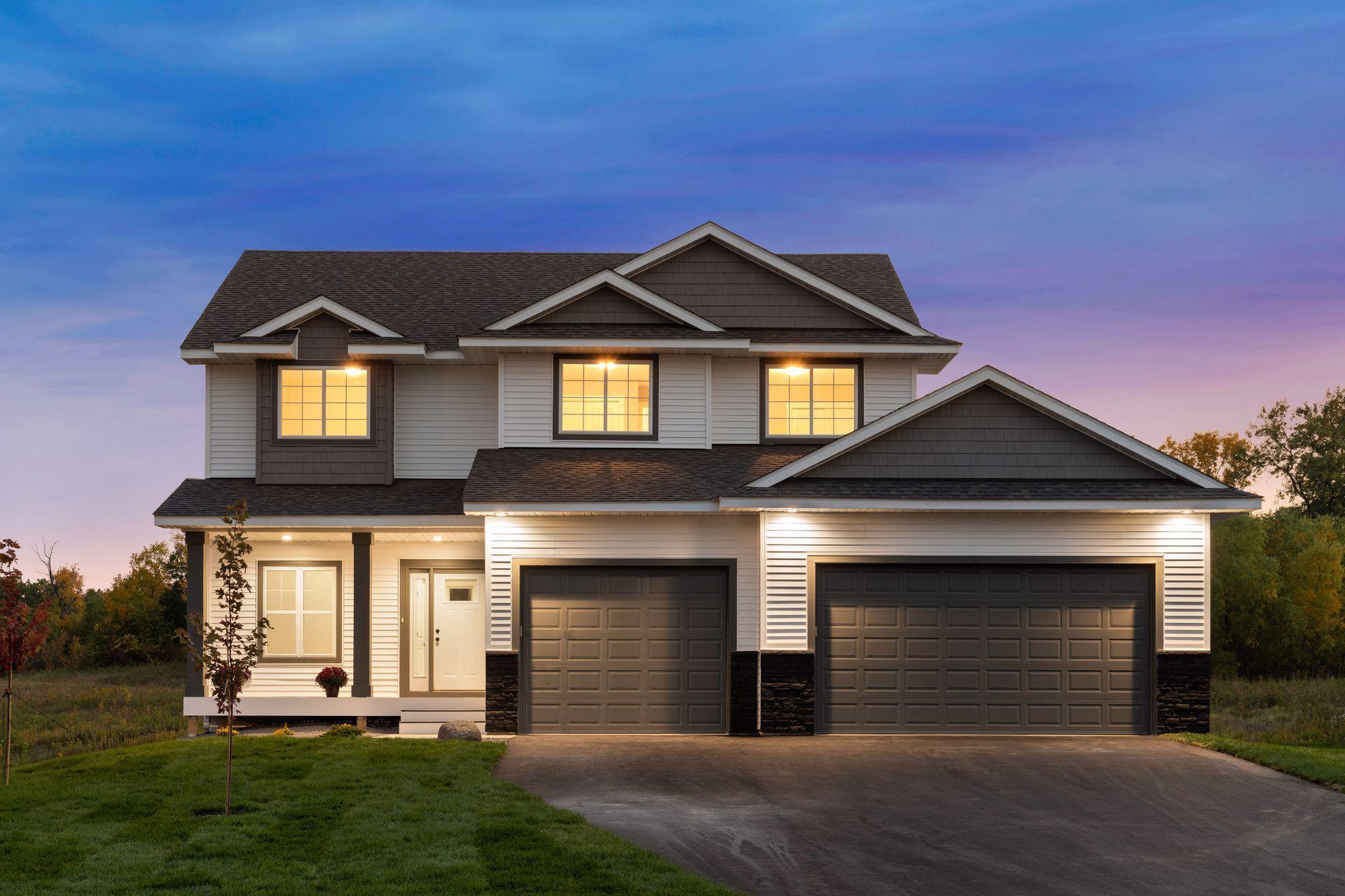 9805 Jasmine Avenue NE Property Photo - Hanover, MN real estate listing