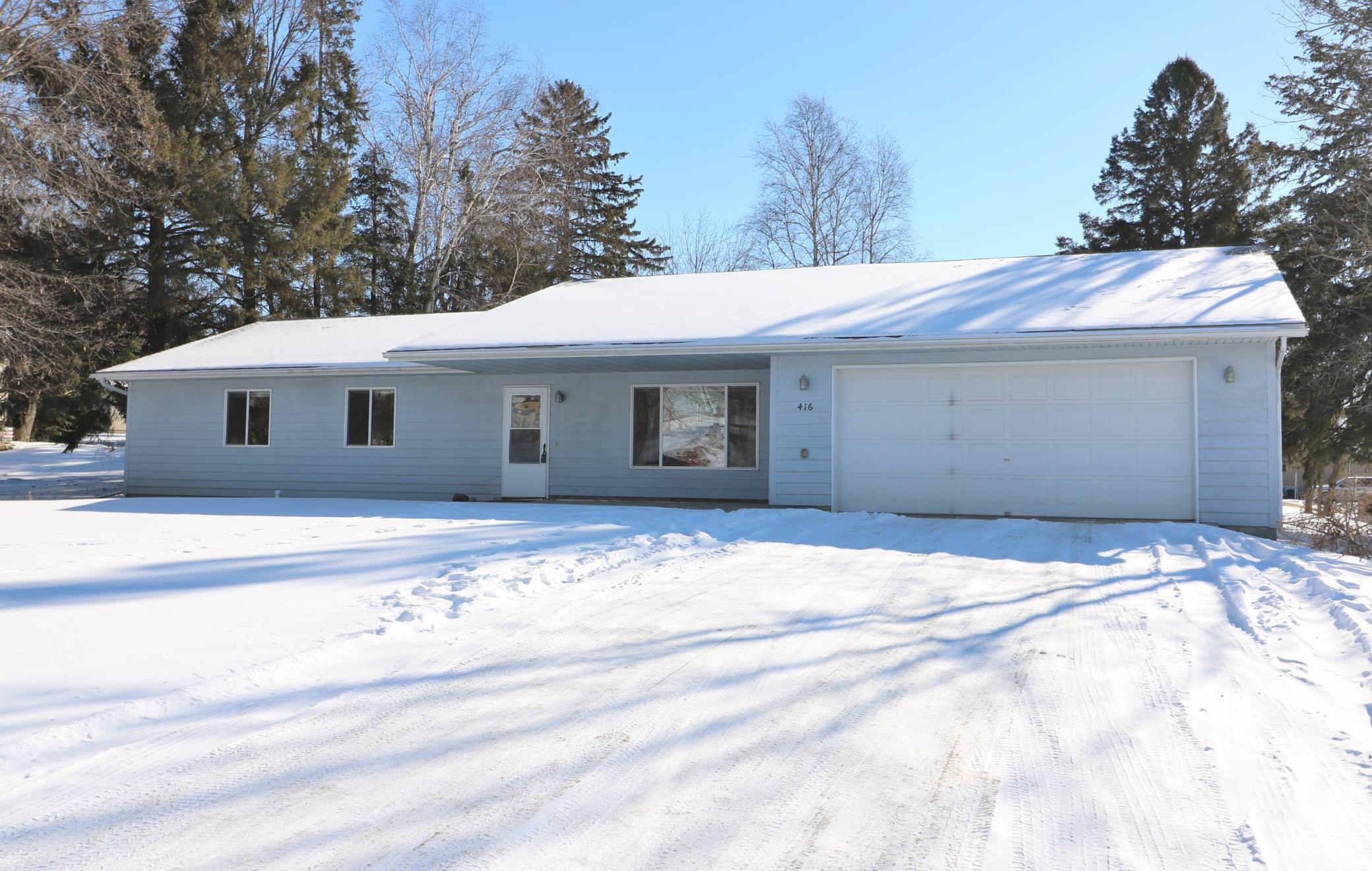 416 3rd Avenue SE Property Photo - Glenwood, MN real estate listing