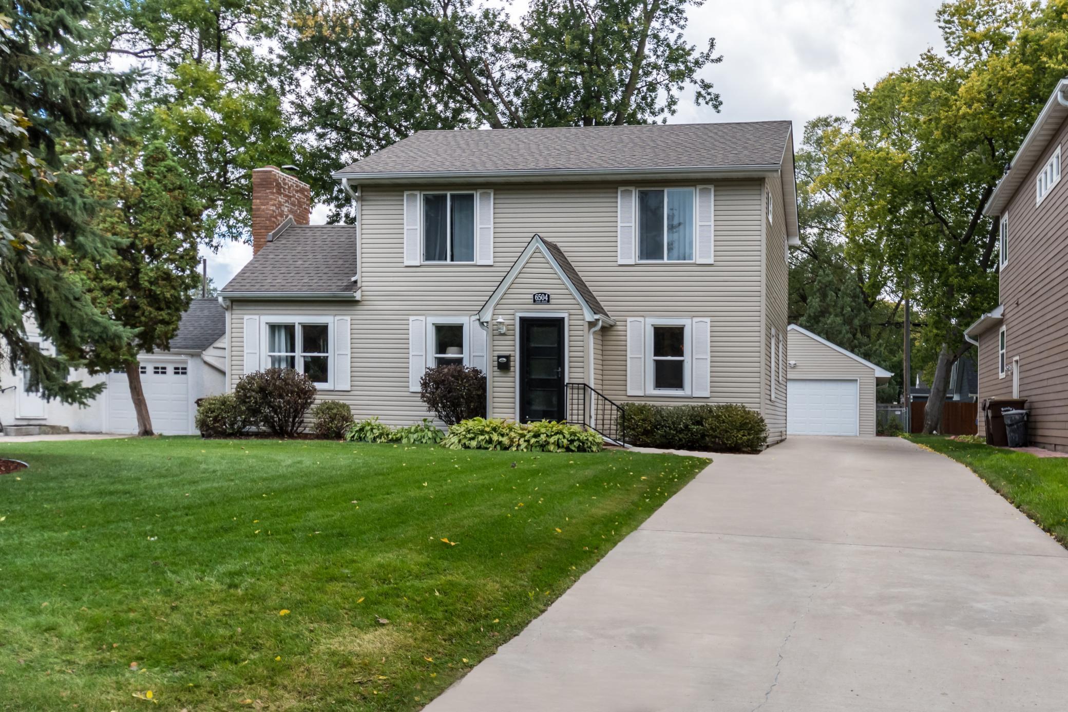 6504 Logan Avenue S Property Photo - Richfield, MN real estate listing