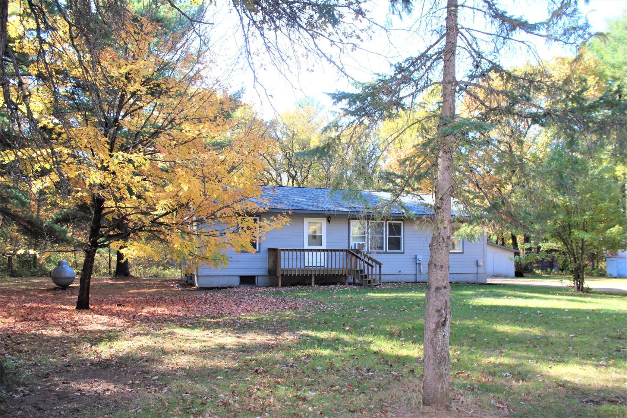 23911 Larson Road Property Photo - Grantsburg, WI real estate listing
