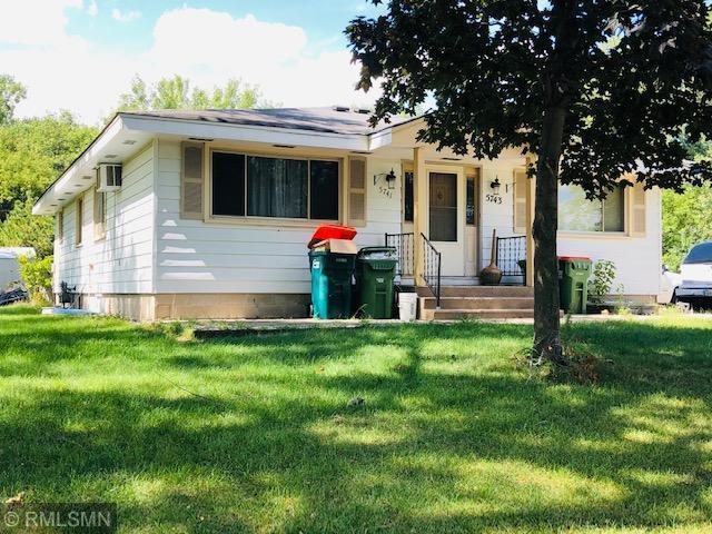 5743 Quincy Street Property Photo - Mounds View, MN real estate listing