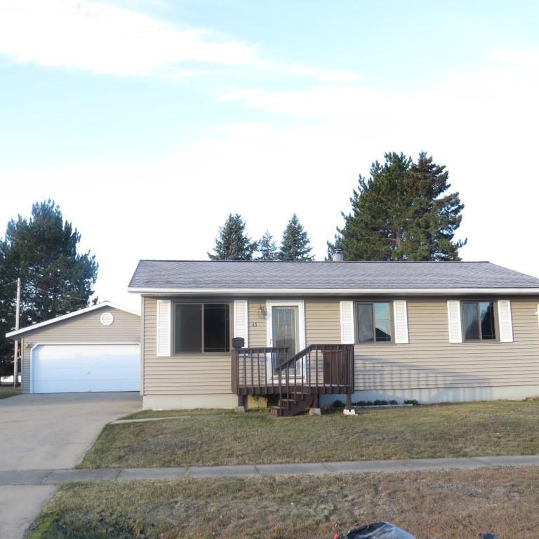 45 Birch Boulevard Property Photo - Babbitt, MN real estate listing