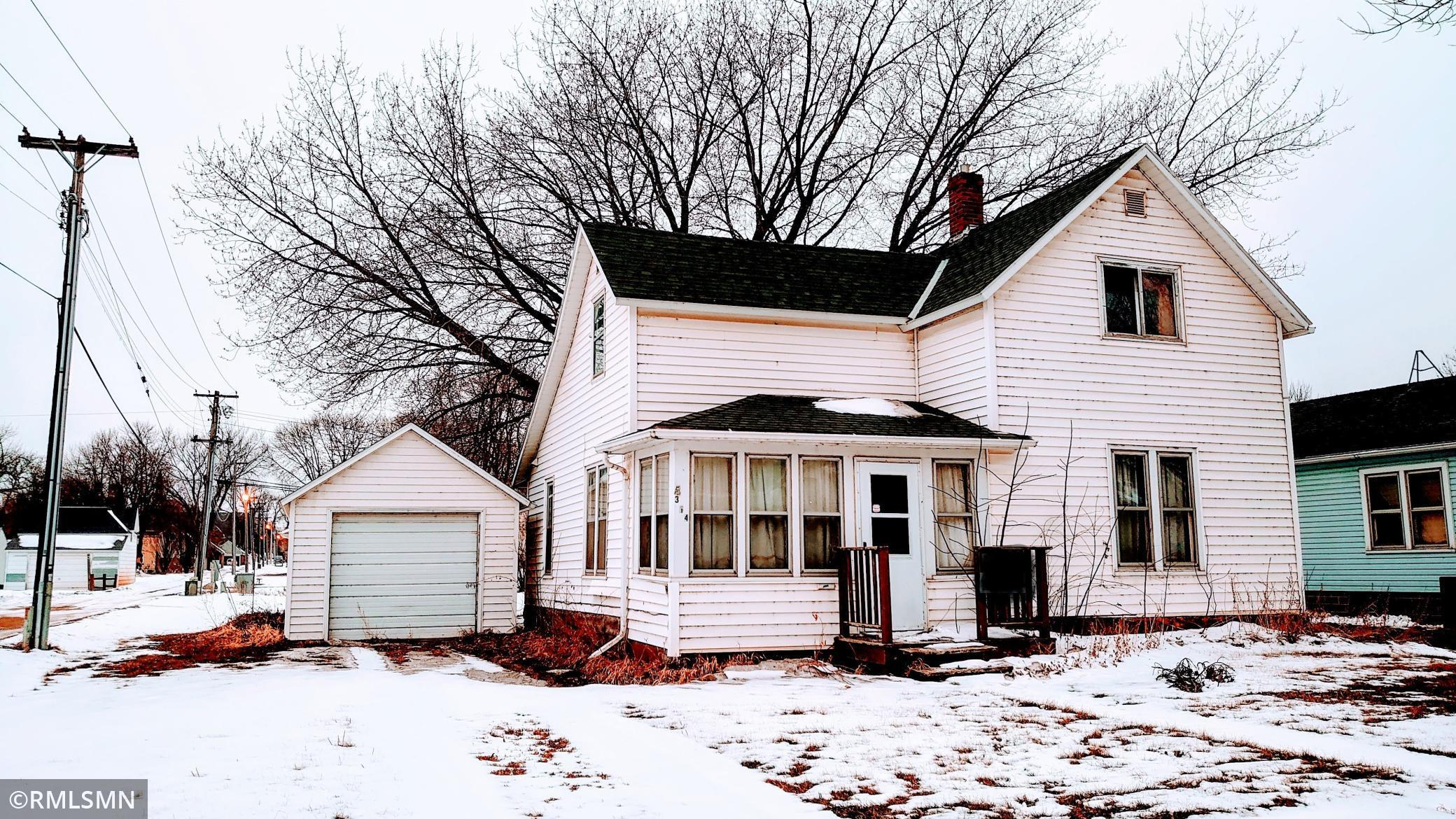 314 N Washington Avenue Property Photo - Springfield, MN real estate listing