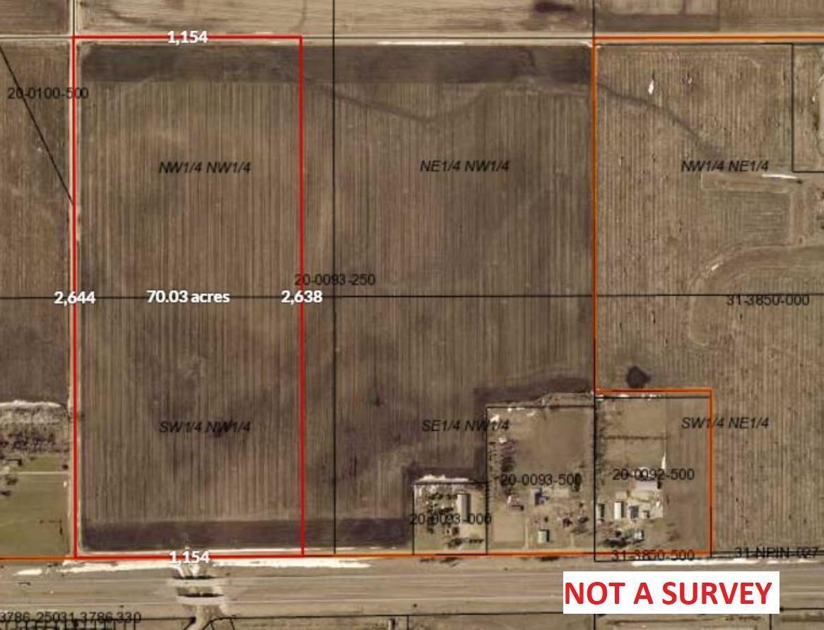 TBD Paul Avenue Property Photo - Worthington Twp, MN real estate listing