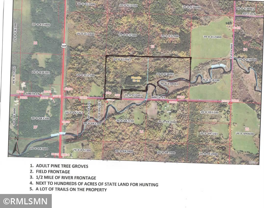 TBD 600th Street Property Photo - Macville Twp, MN real estate listing