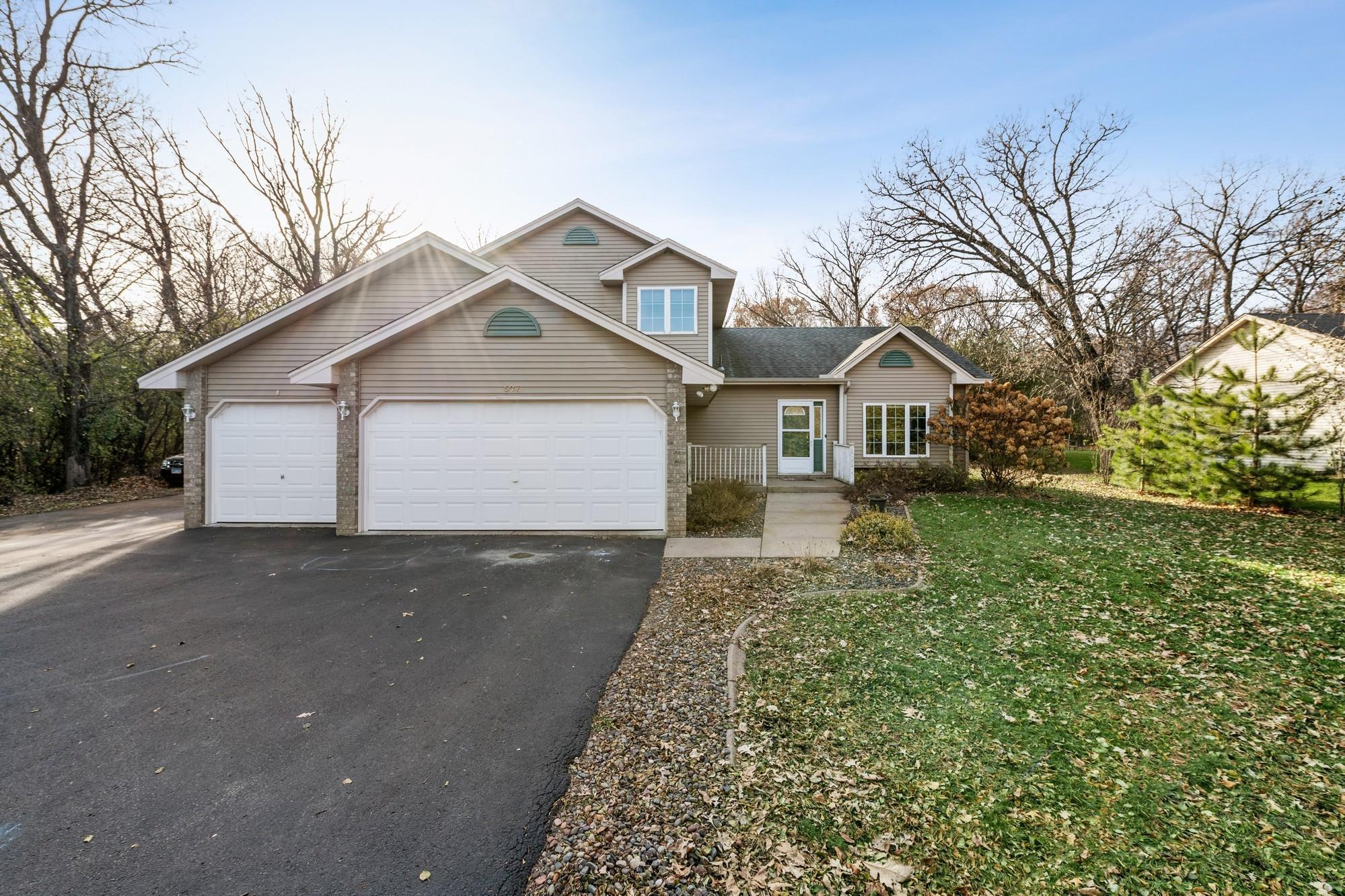 507 South Passage SW Property Photo - Isanti, MN real estate listing