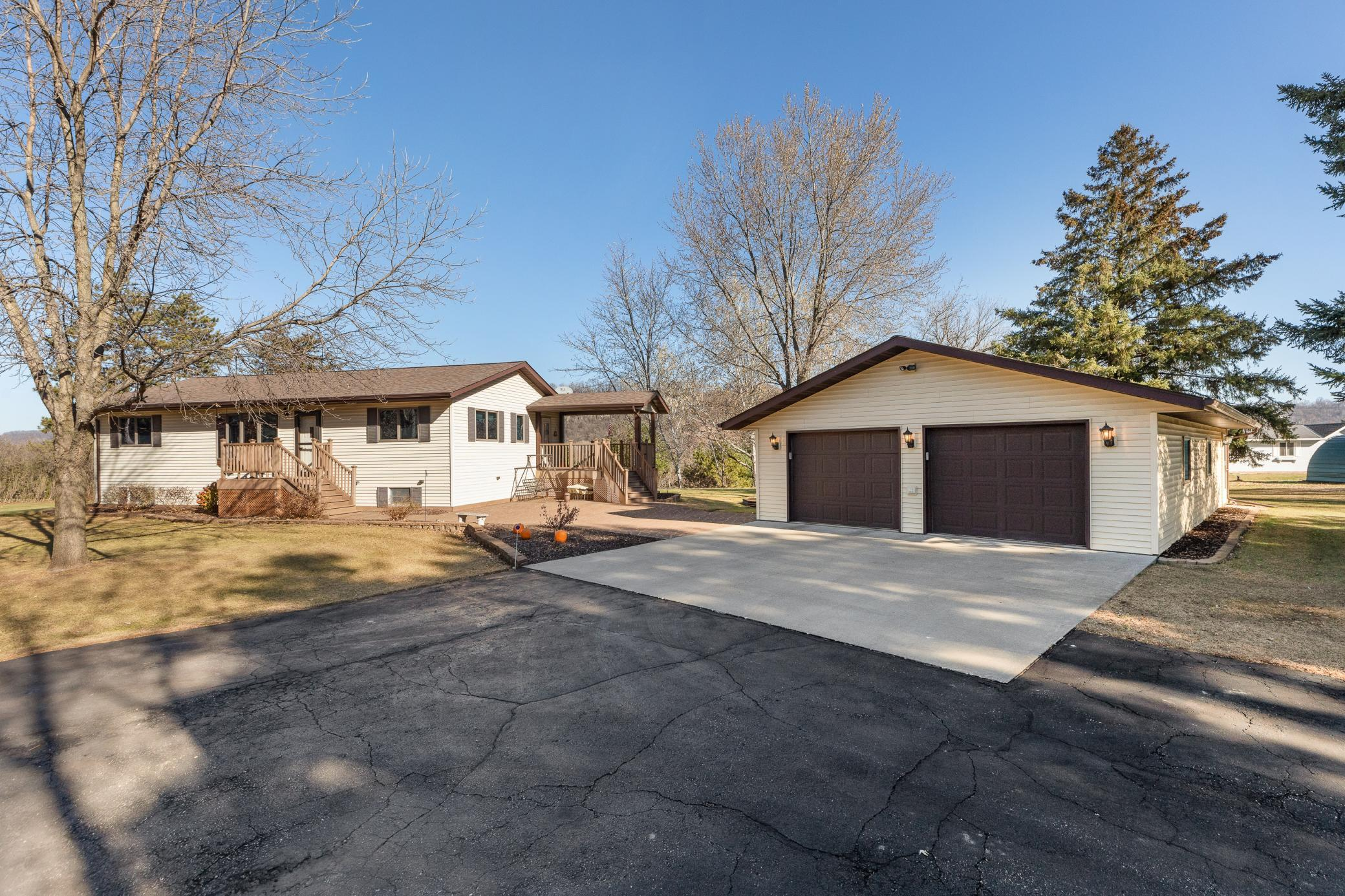 N2046 County Road K Property Photo - Hager City, WI real estate listing