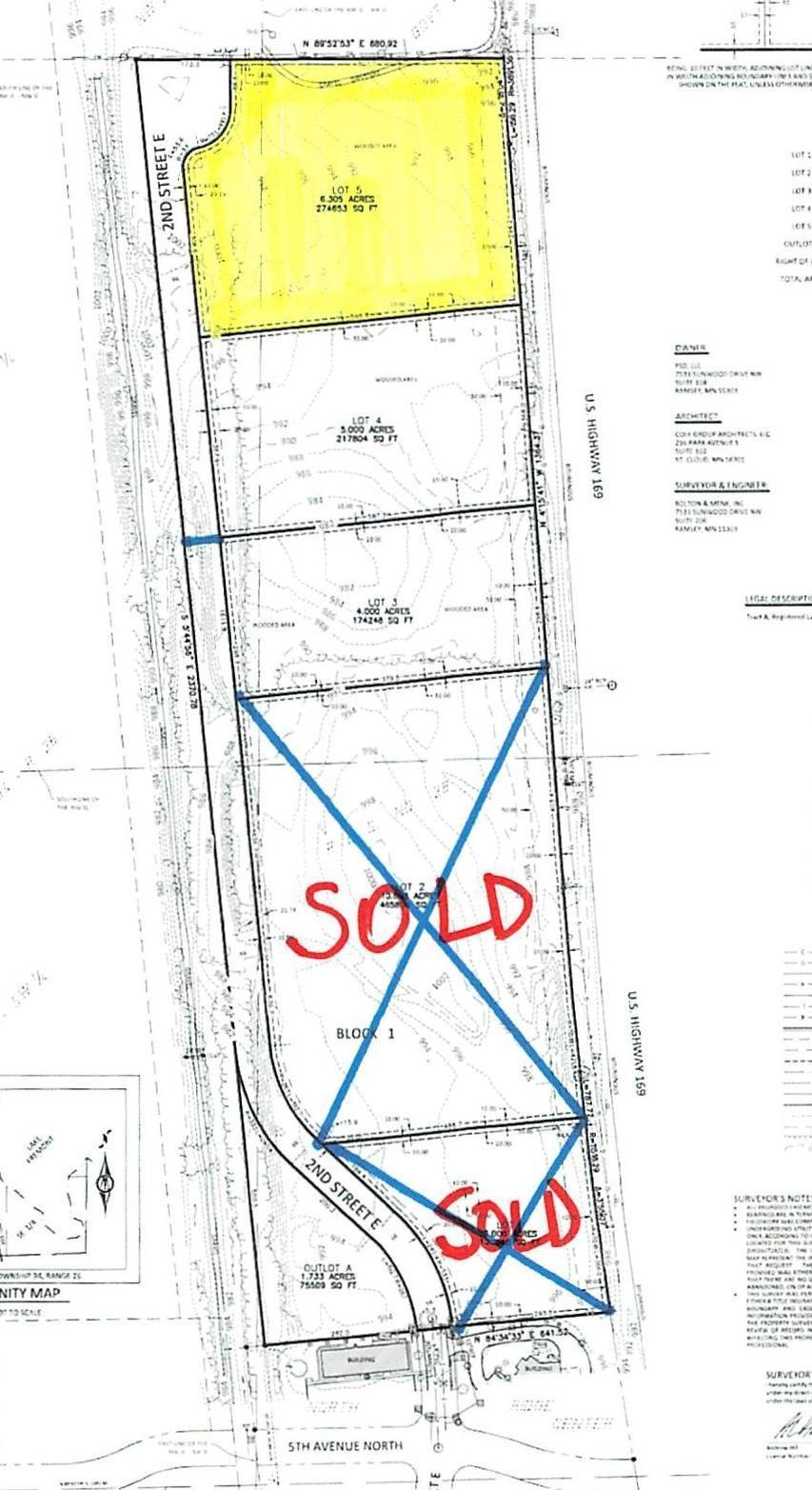 000 2nd Street E - Lot 5 Property Photo - Zimmerman, MN real estate listing