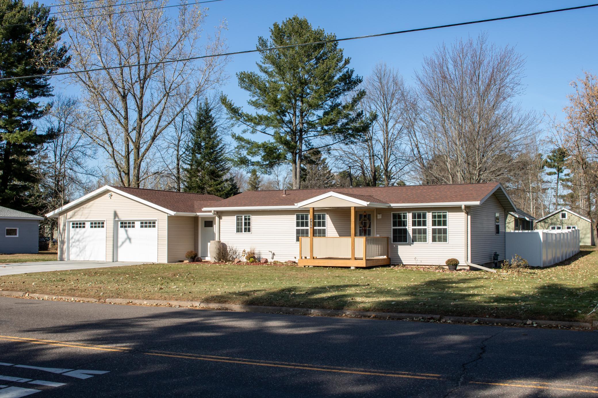 416 Dallas Street Property Photo - Chetek, WI real estate listing