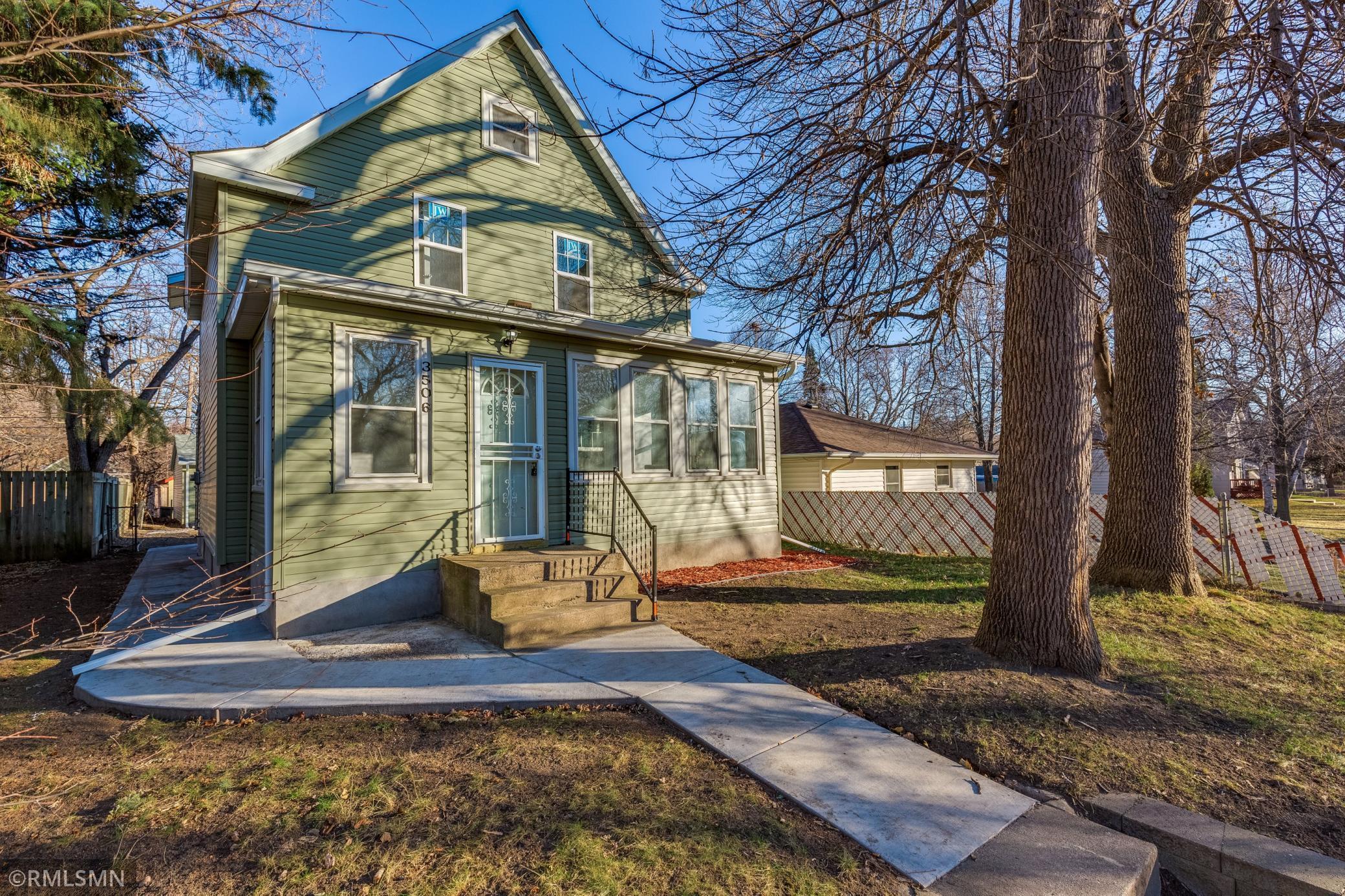 3506 Thomas Avenue N Property Photo - Minneapolis, MN real estate listing
