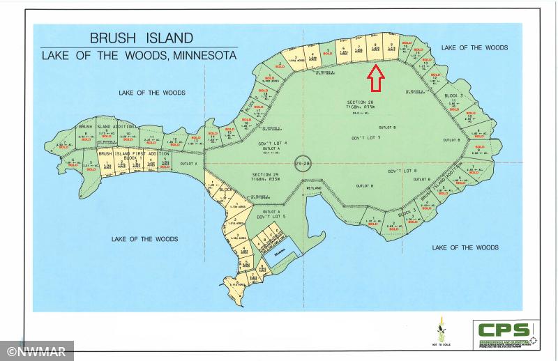 TBD Brush Island Property Photo - Angle Twp, MN real estate listing