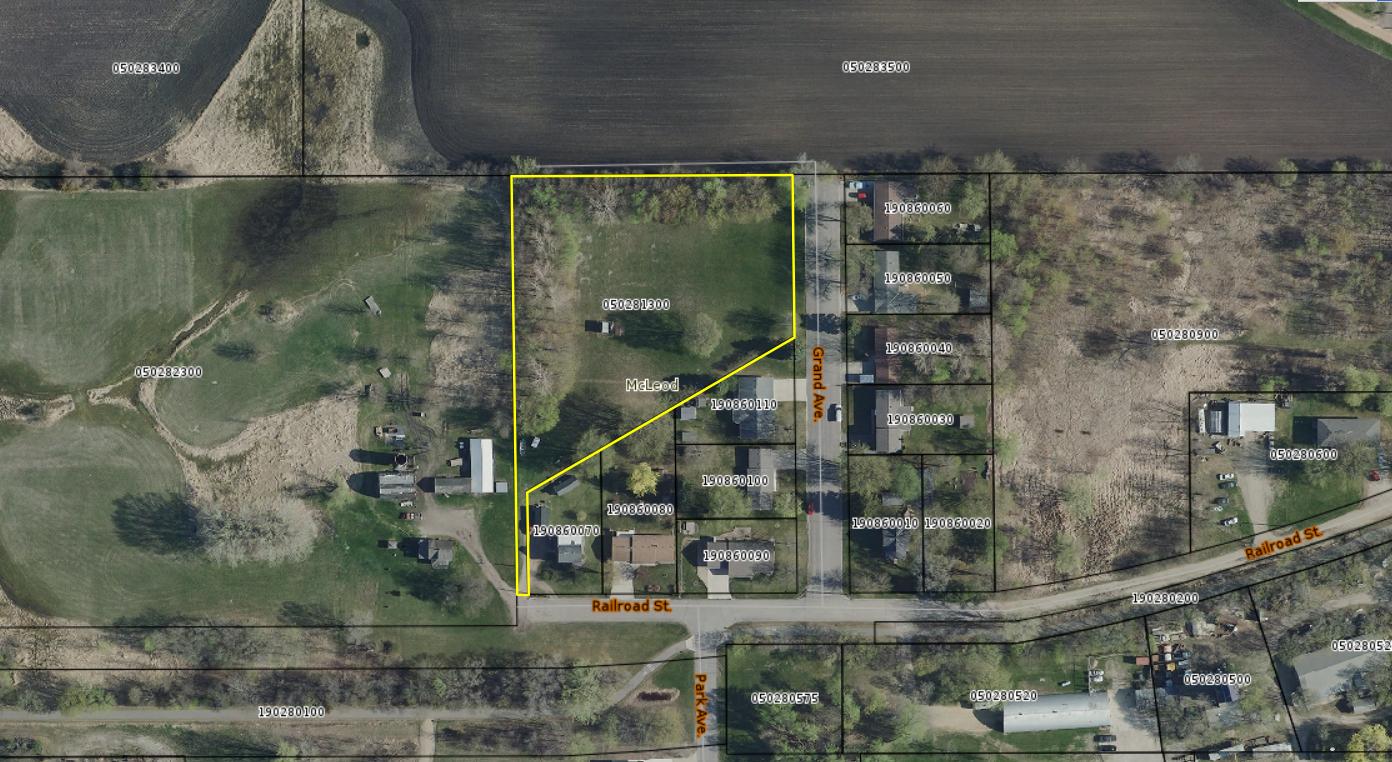TBD Grand Avenue Property Photo - Silver Lake, MN real estate listing