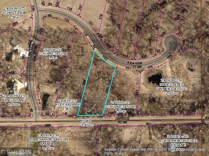 Lot 3 Blk 2 S Ida View Court NW Property Photo - Ida Twp, MN real estate listing