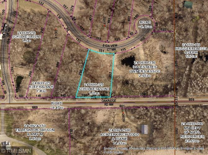 Lot 4 Blk 2 S Ida View Court NW Property Photo - Ida Twp, MN real estate listing