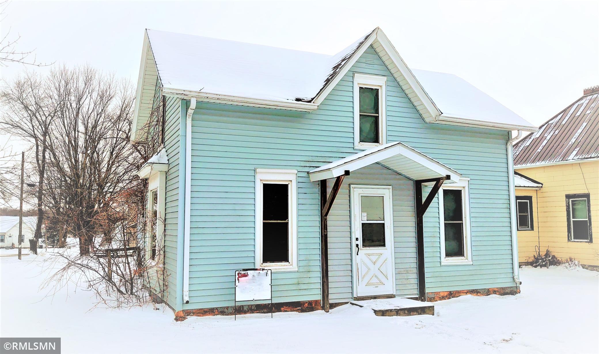 113 1st Street SE Property Photo - Hayfield, MN real estate listing