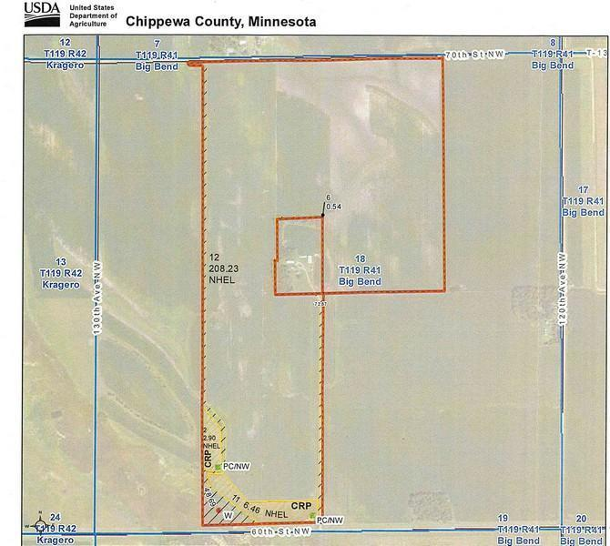 XXX NW 60th Street Property Photo - Big Bend Twp, MN real estate listing